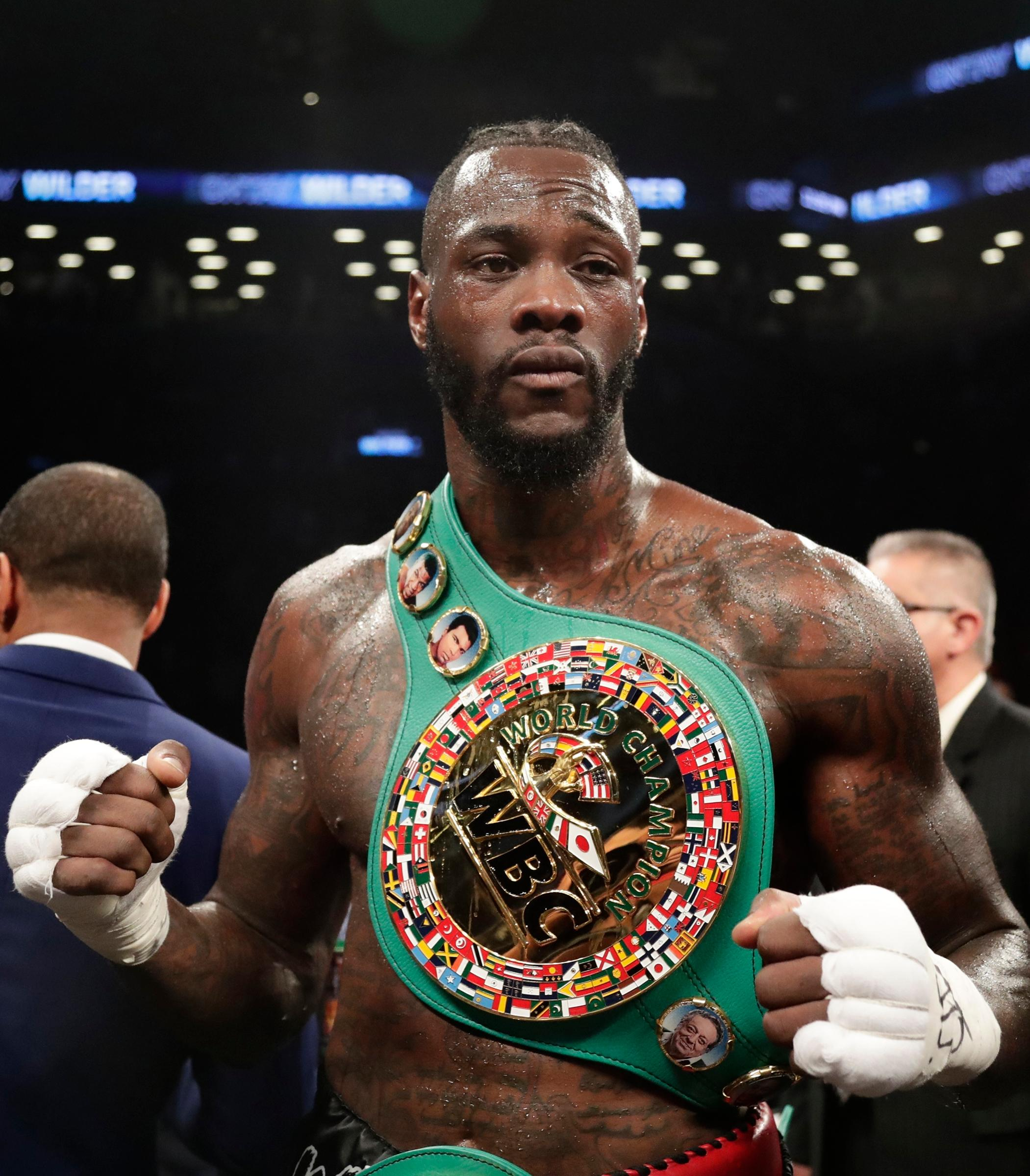 Deontay Wilder has held the WBC heavyweight title since 2015