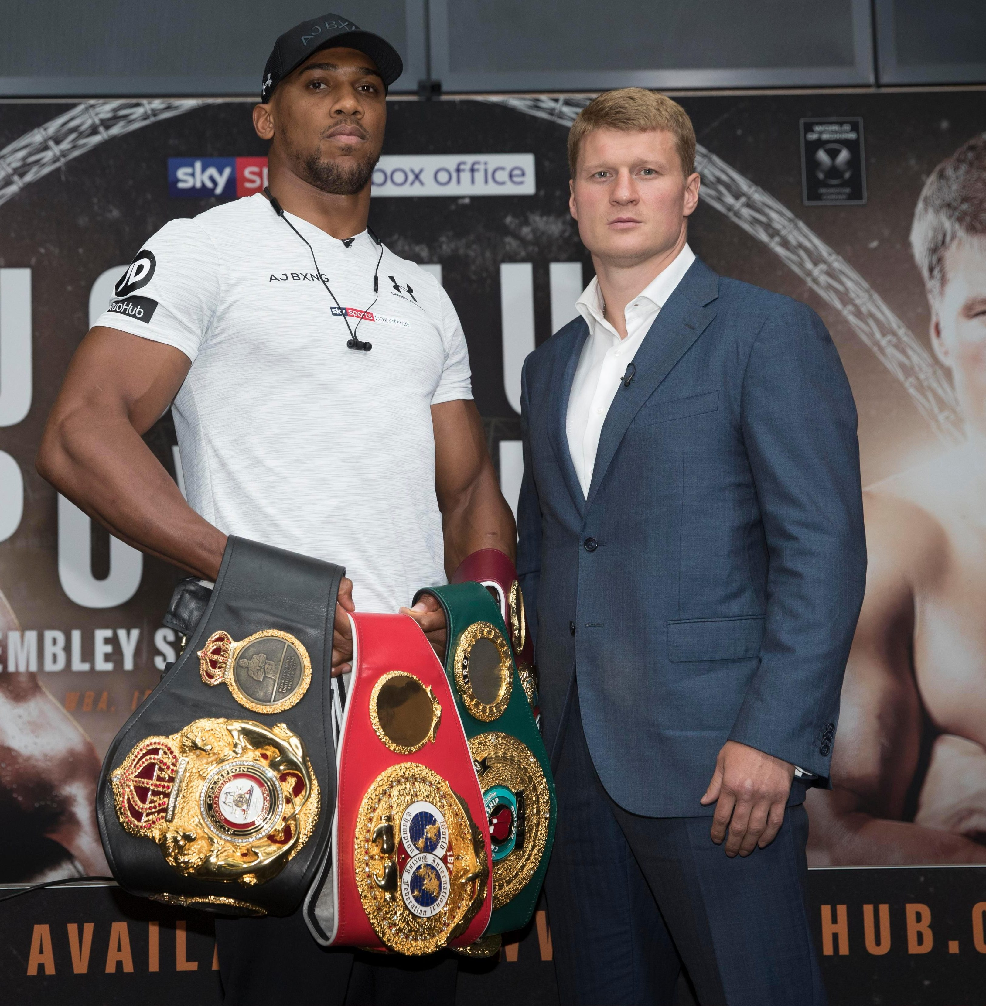 Anthony Joshua will defend his heavyweight world titles against Alexander Povetkin on September 22