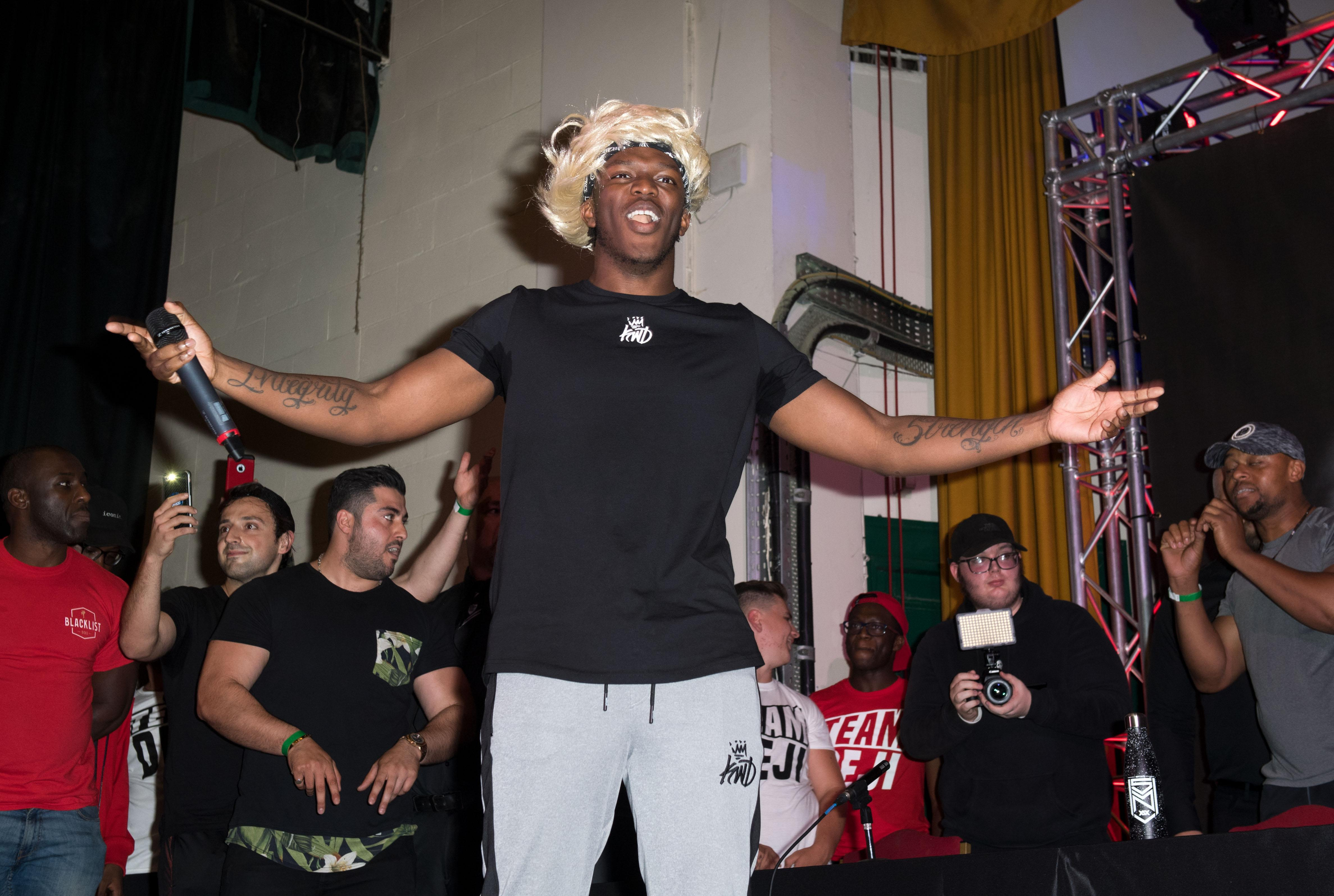 KSI will be on home turf as he faces Logan Paul at Manchester Arena