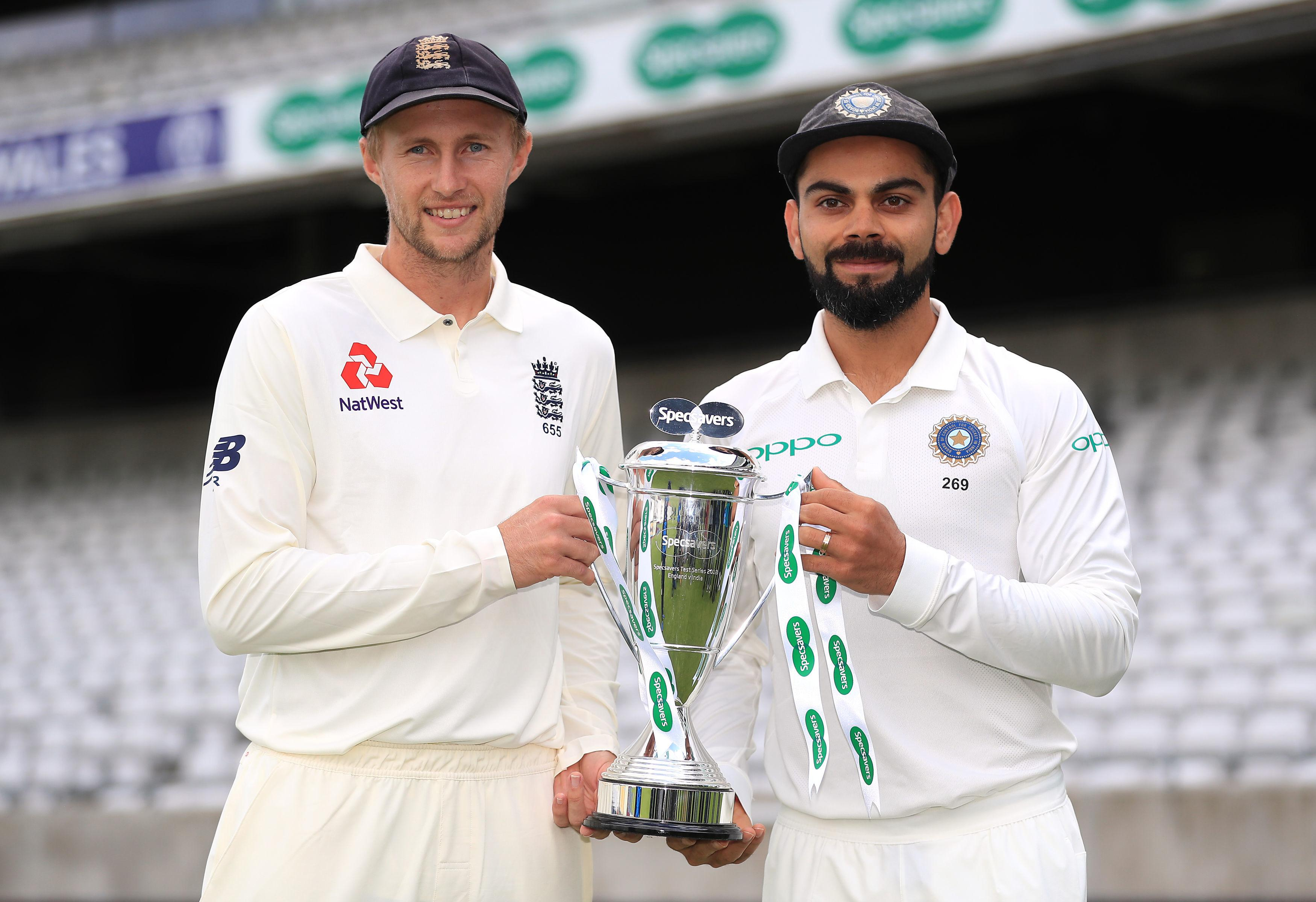 England welcome Virat Kohli's men, who are the No 1 Test side in the world