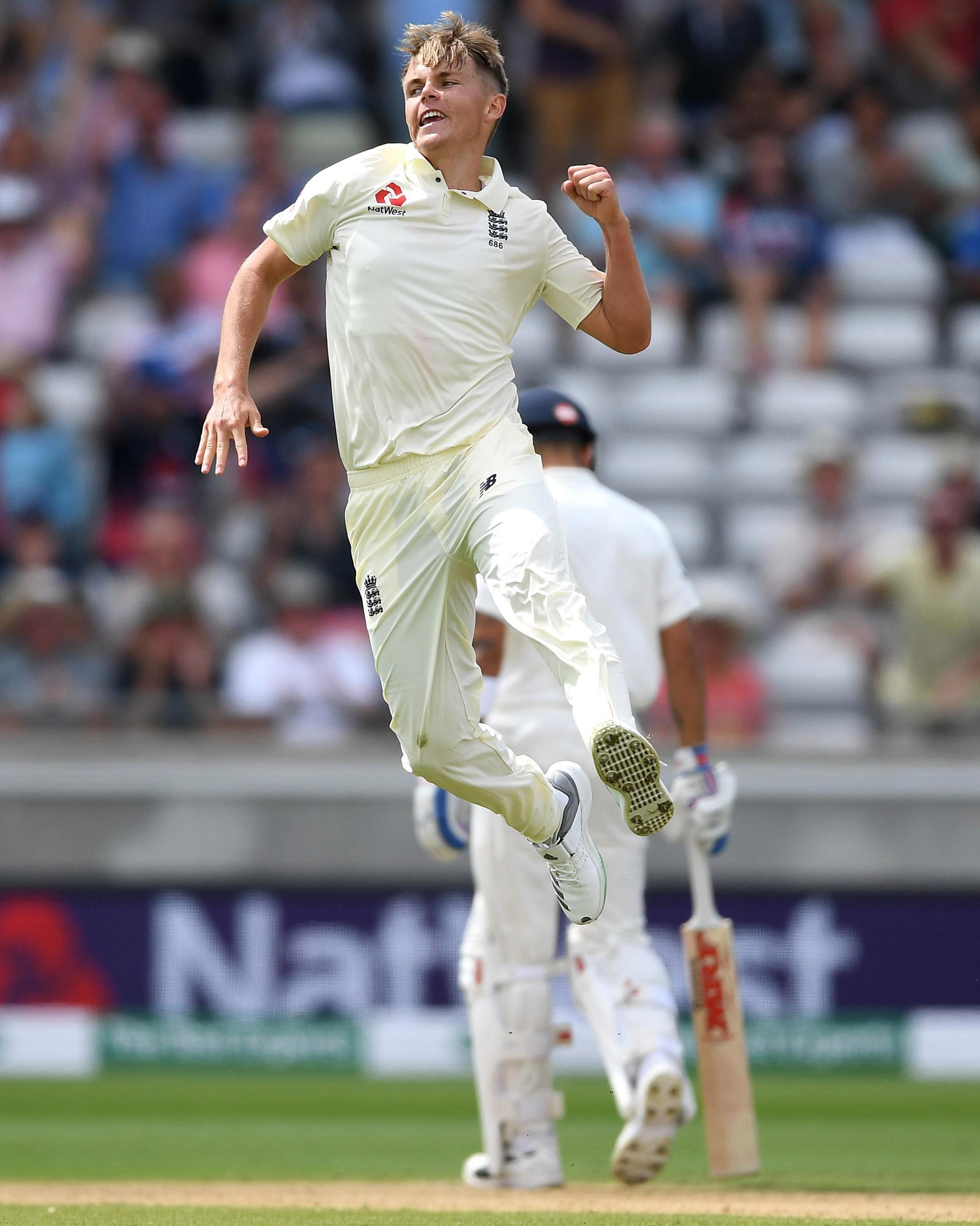 Sam Curran changed the game with three quick wickets for England