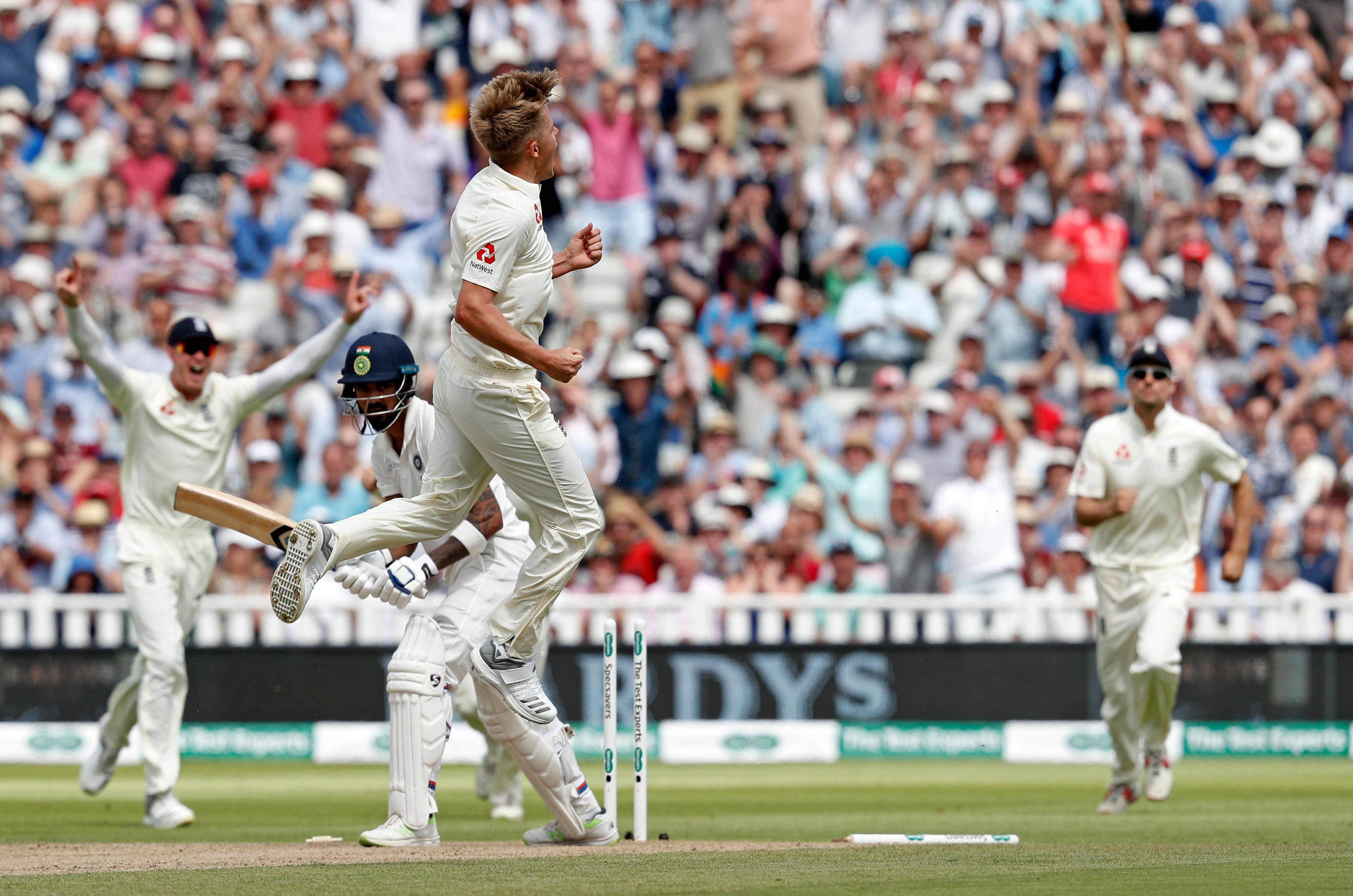 Sam Curran was in dreamland as he picked up wicket after wicket