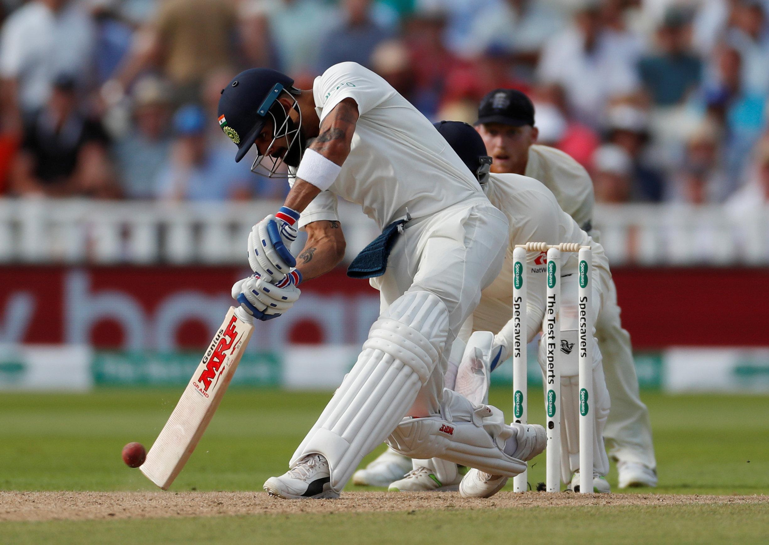 Virat Kohli was the only India batsman to make a sizeable score