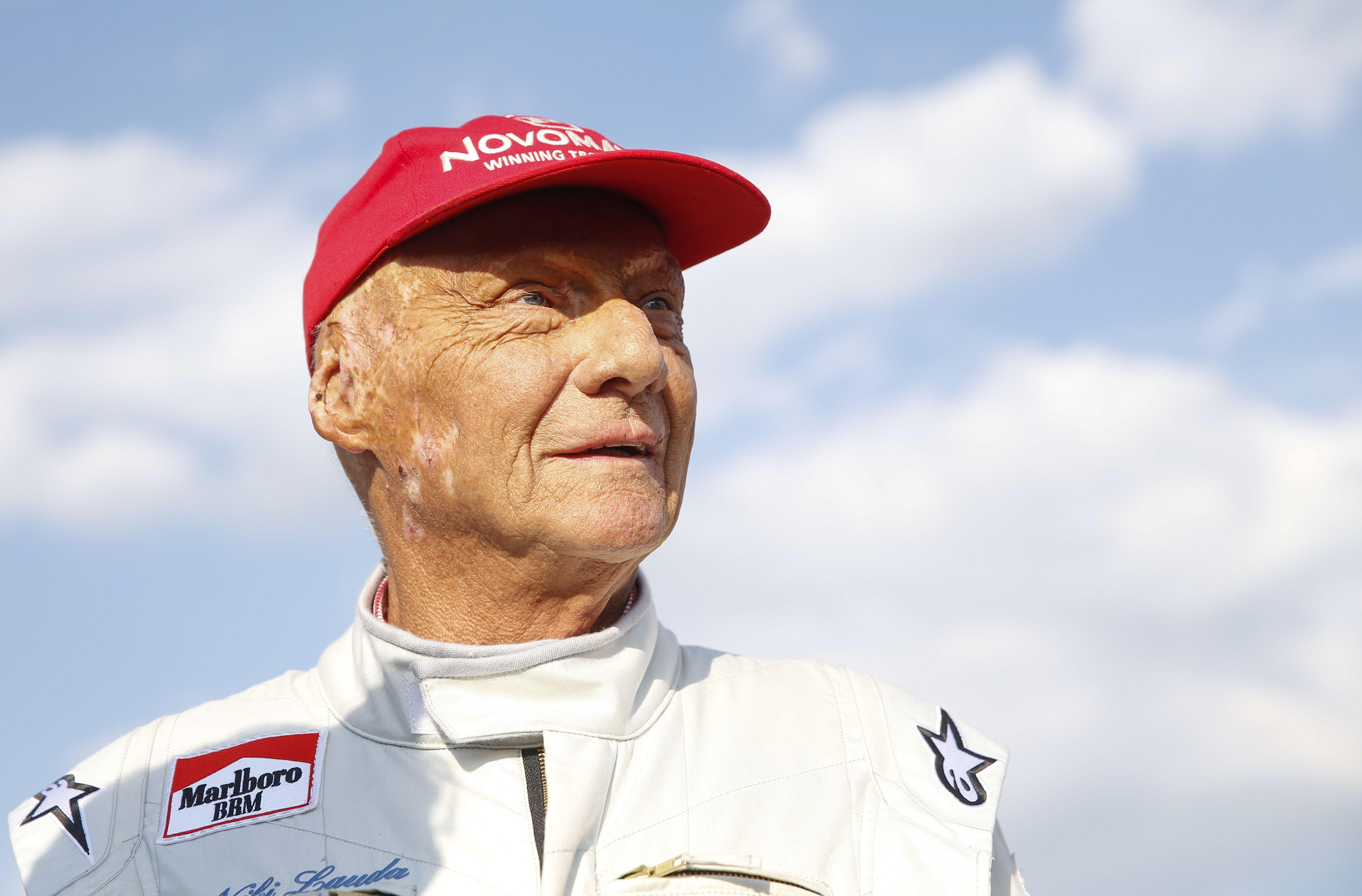 Niki Lauda has had a lung transplant after being admitted to Vienna General Hospital