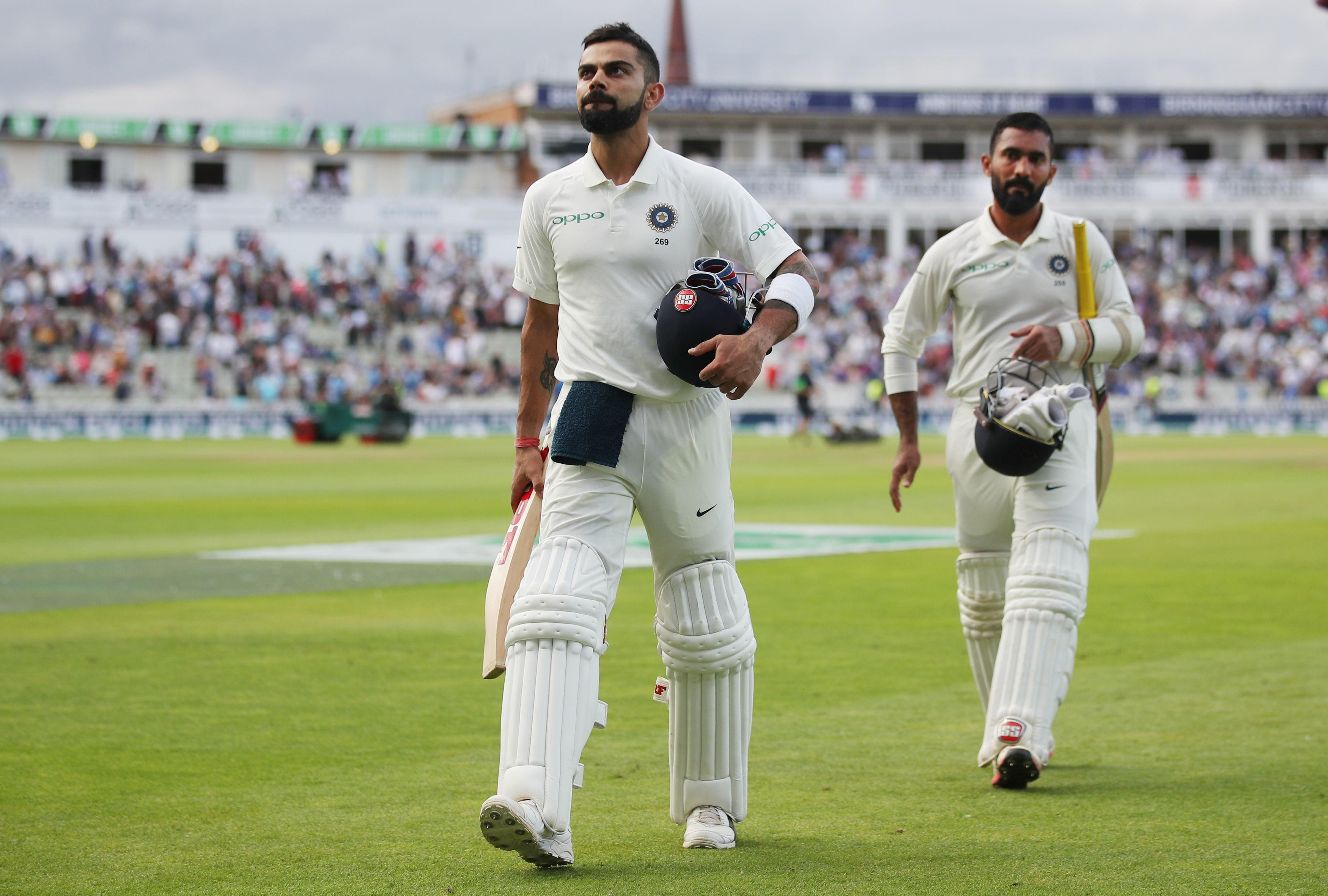 Virat Kohli is the big threat to England and unless they can take his wicket the game is there for India to win
