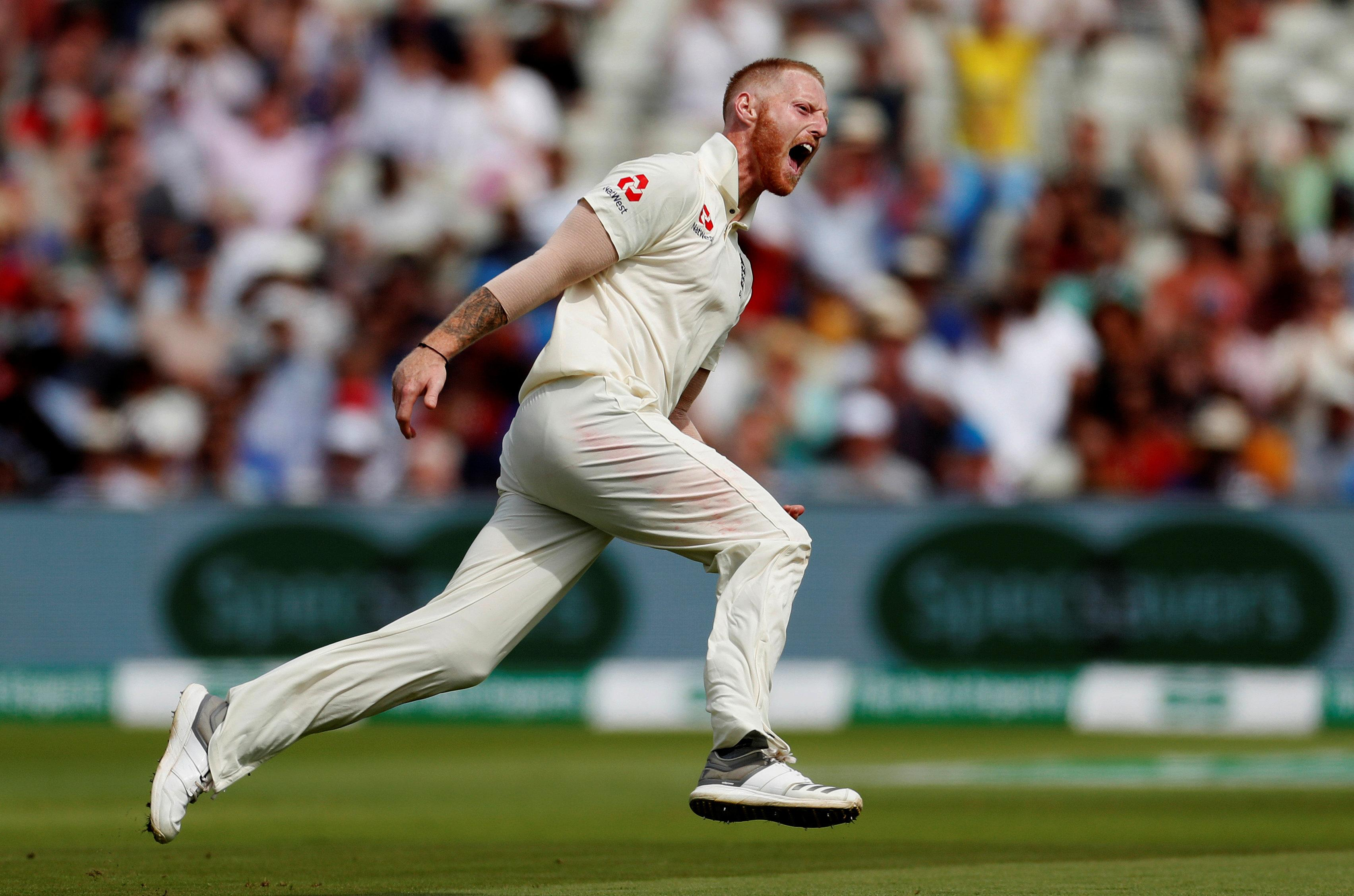 Stokes starred in England's thrilling Test win over India at Edgbaston