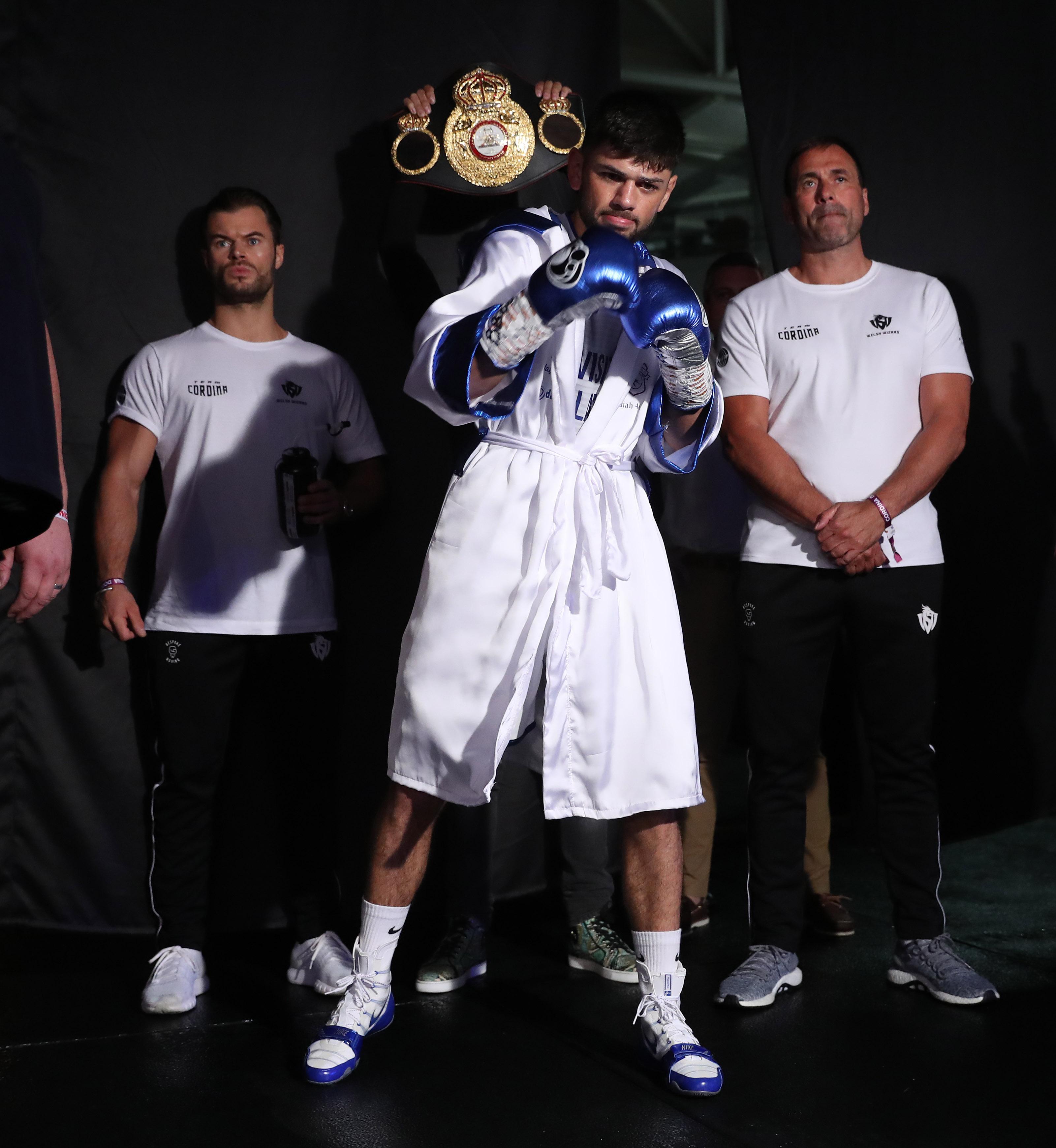 Joe Cordina added the Commonwealth lightweight title to his WBA International lightweight title