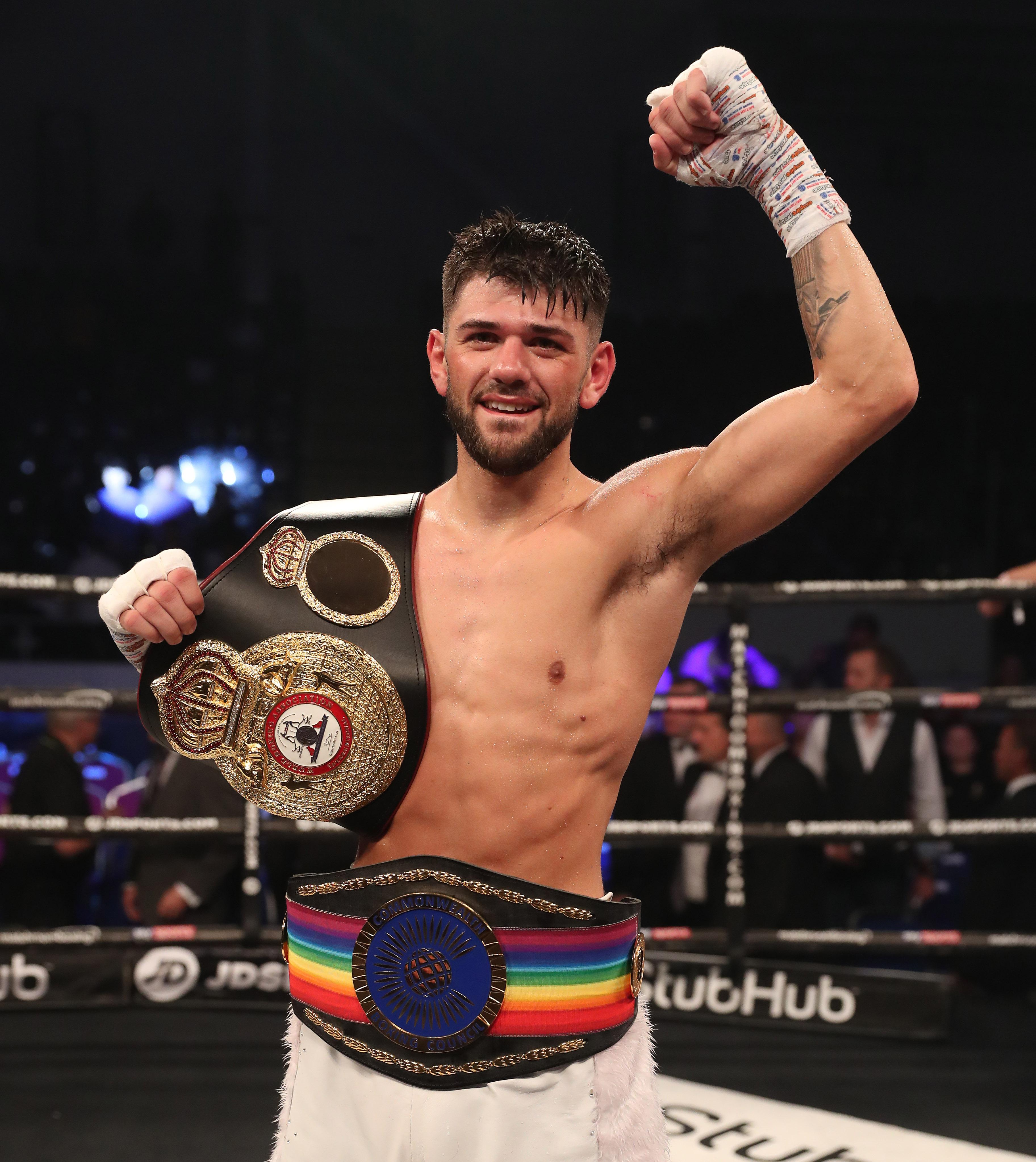 Joe Cordina has won the Commonwealth lightweight title in just his eighth fight