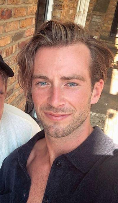 Digby Edgley is a male model and star of Made In Chelsea