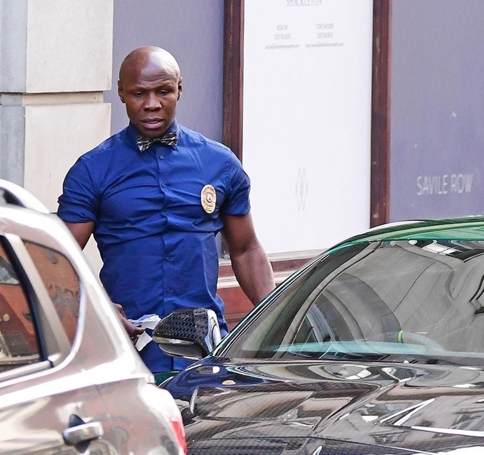 Chris Eubank could be banned from driving over 1 KO licence plate