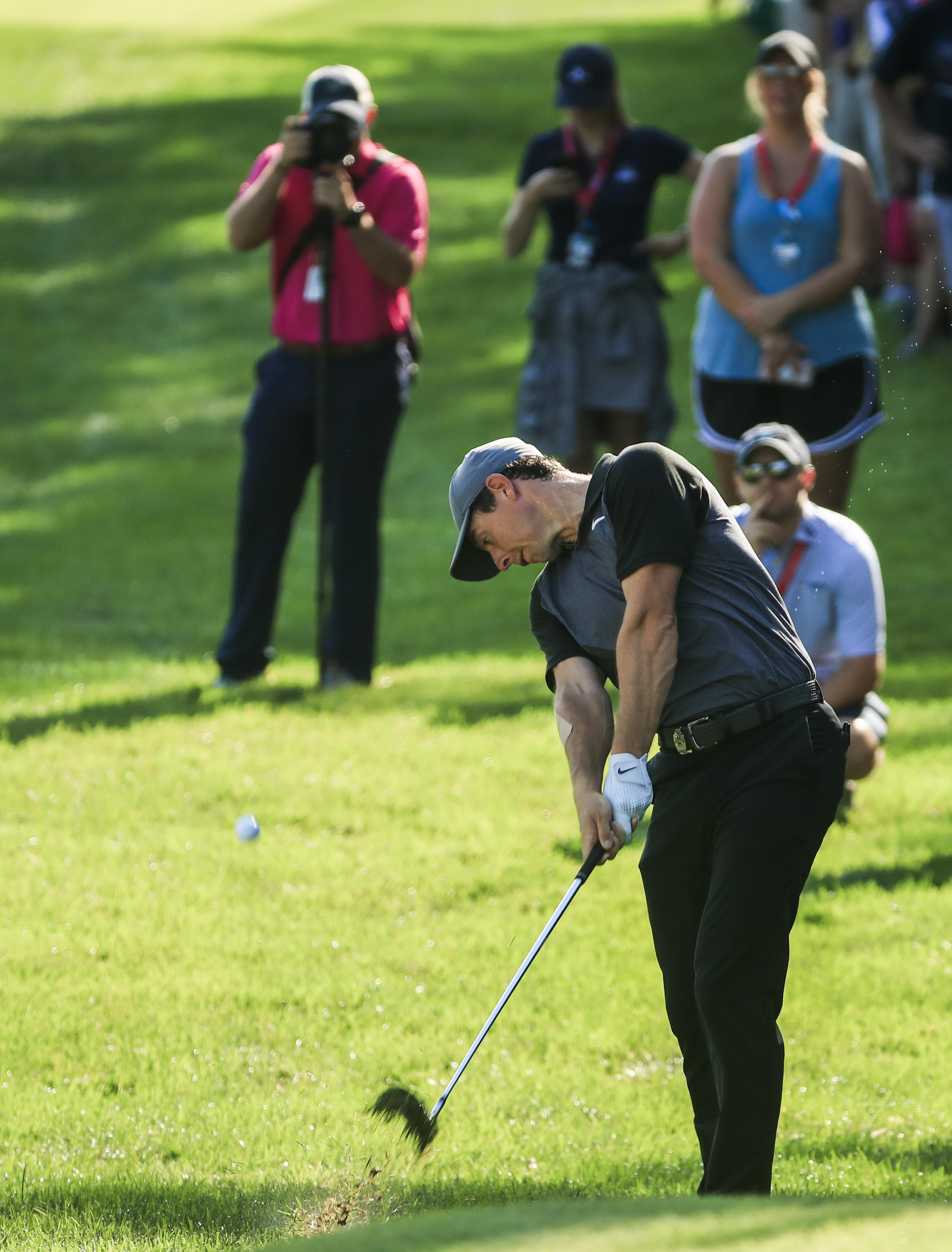 McIlroy admitted he has to work on playing with short irons