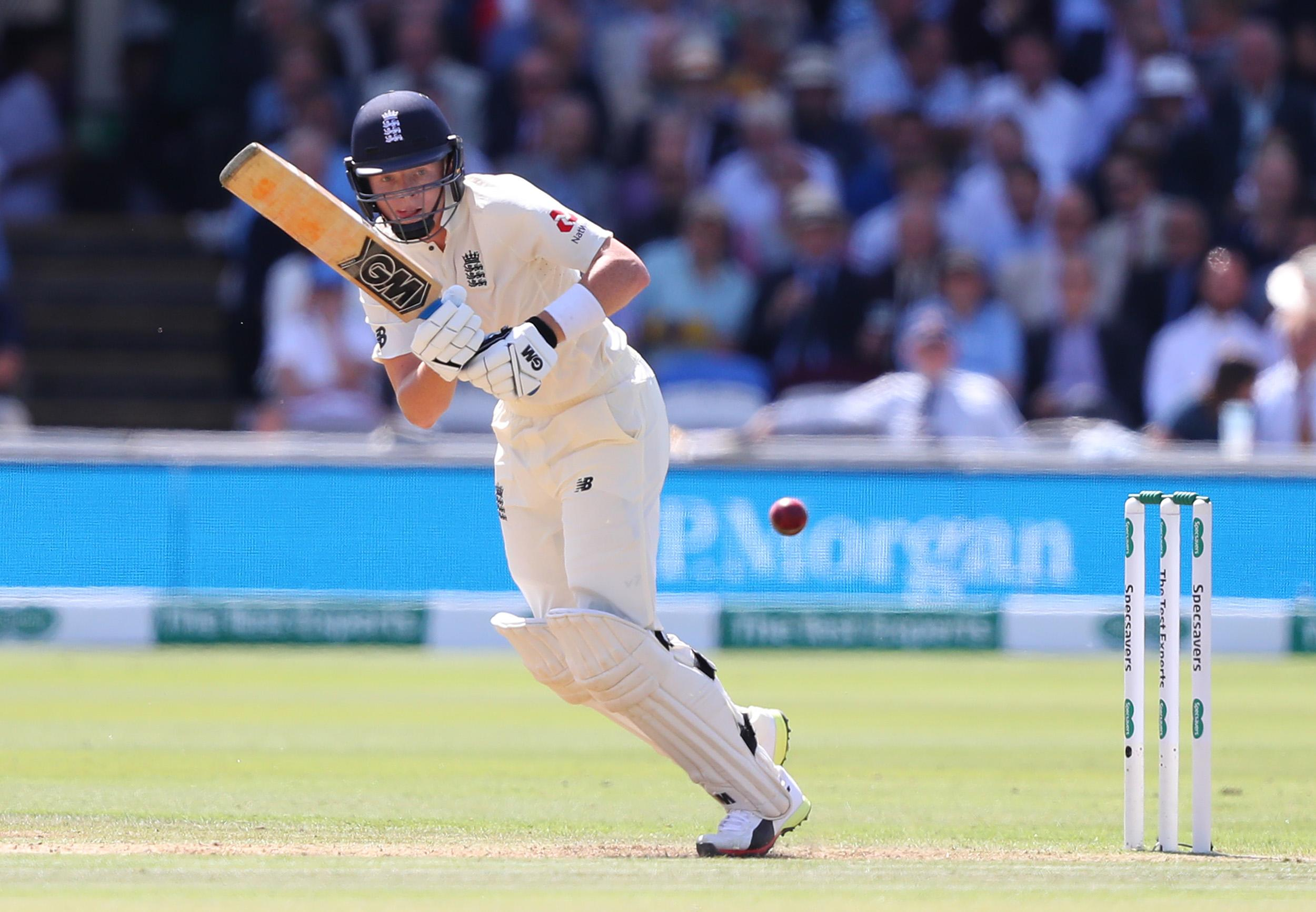 Ollie Pope scored 28 in his first Test innings