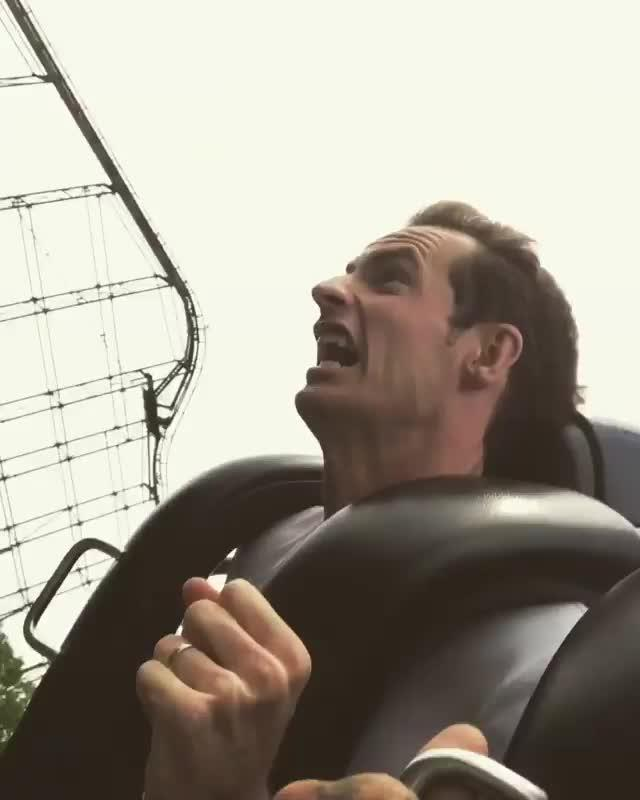 Murray was at Kings Island theme park in Ohio