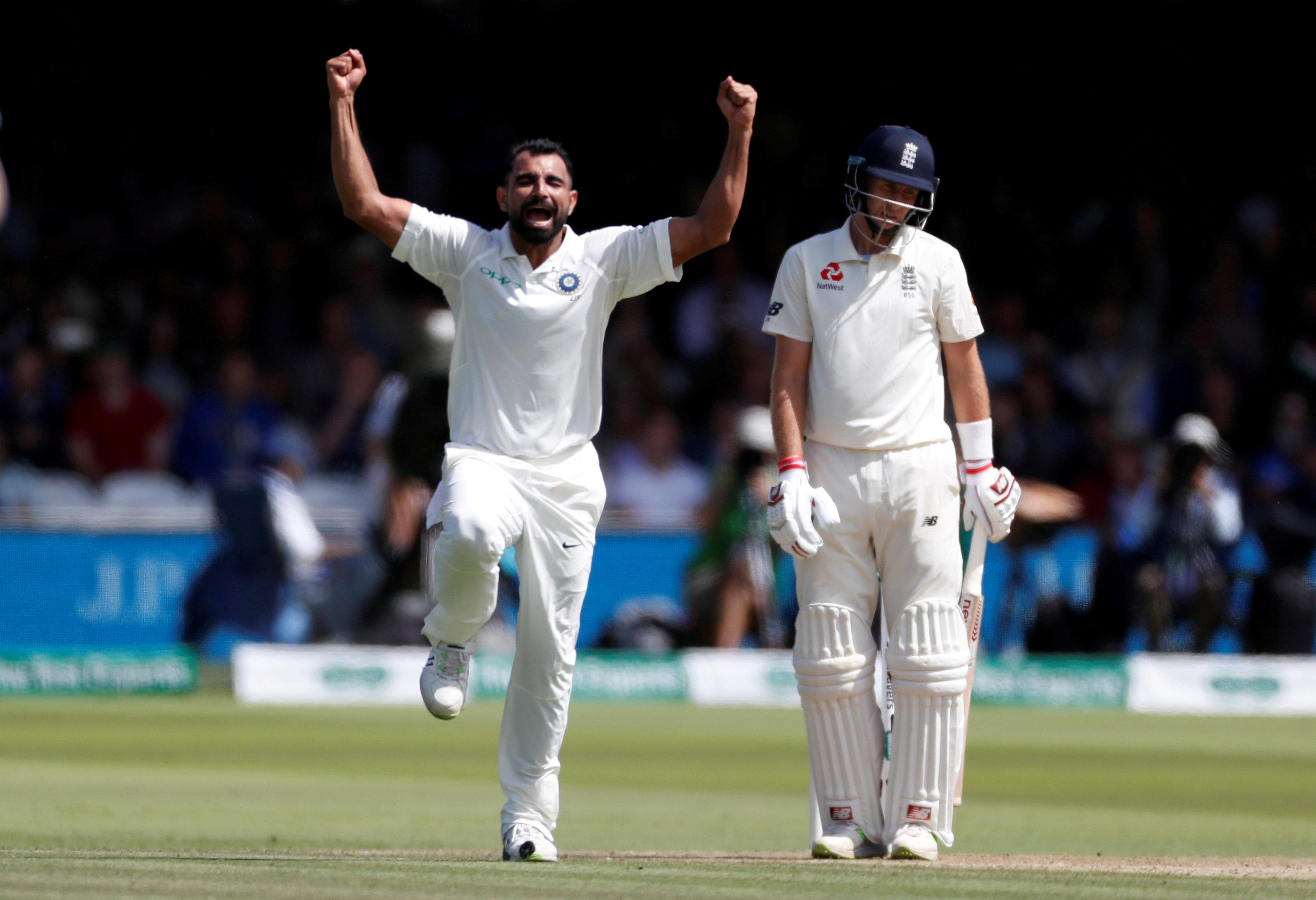 India started day three well, with captain Joe Root the fourth England wicket to fall