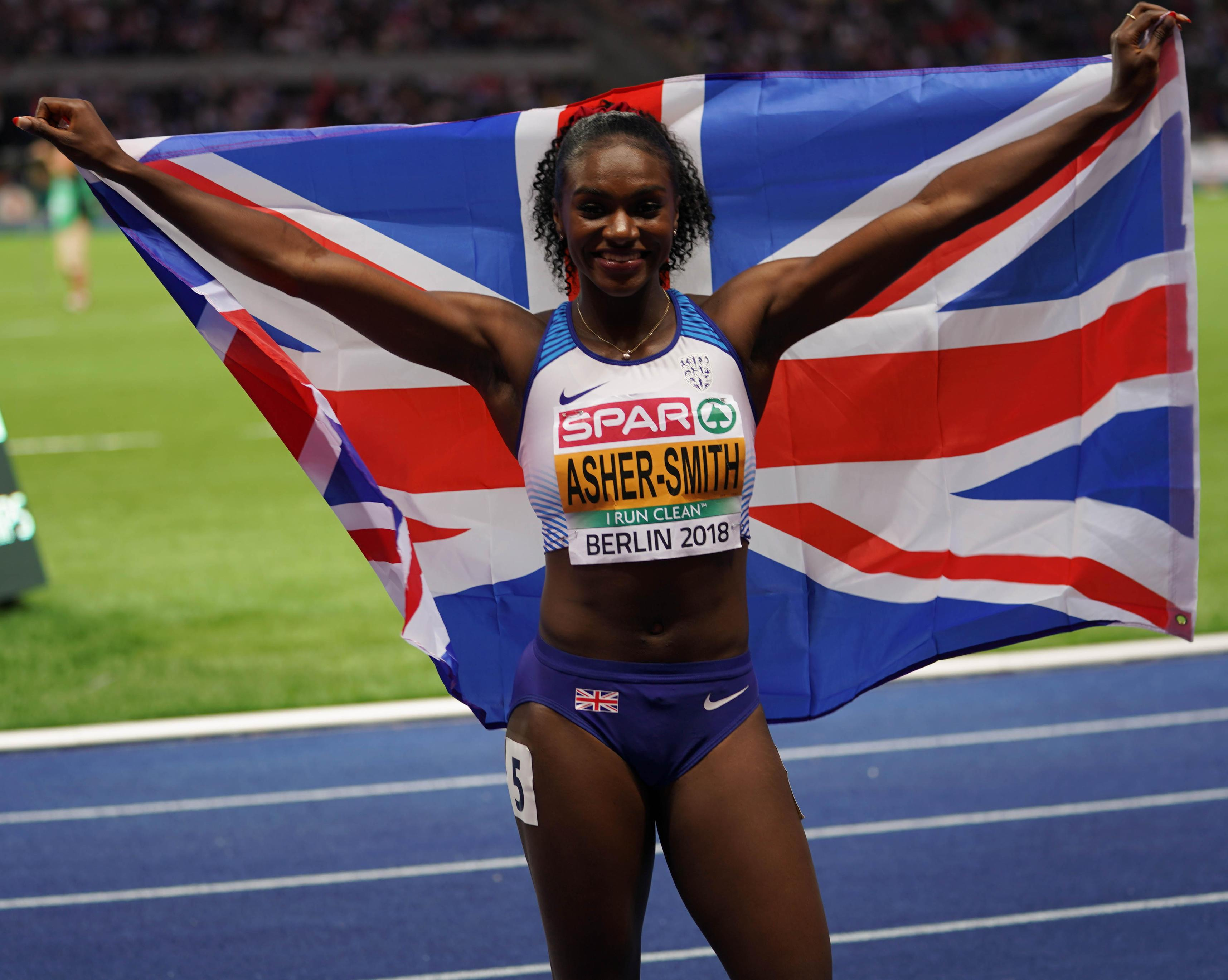 Dina Asher-Smith made history on Saturday with her European double