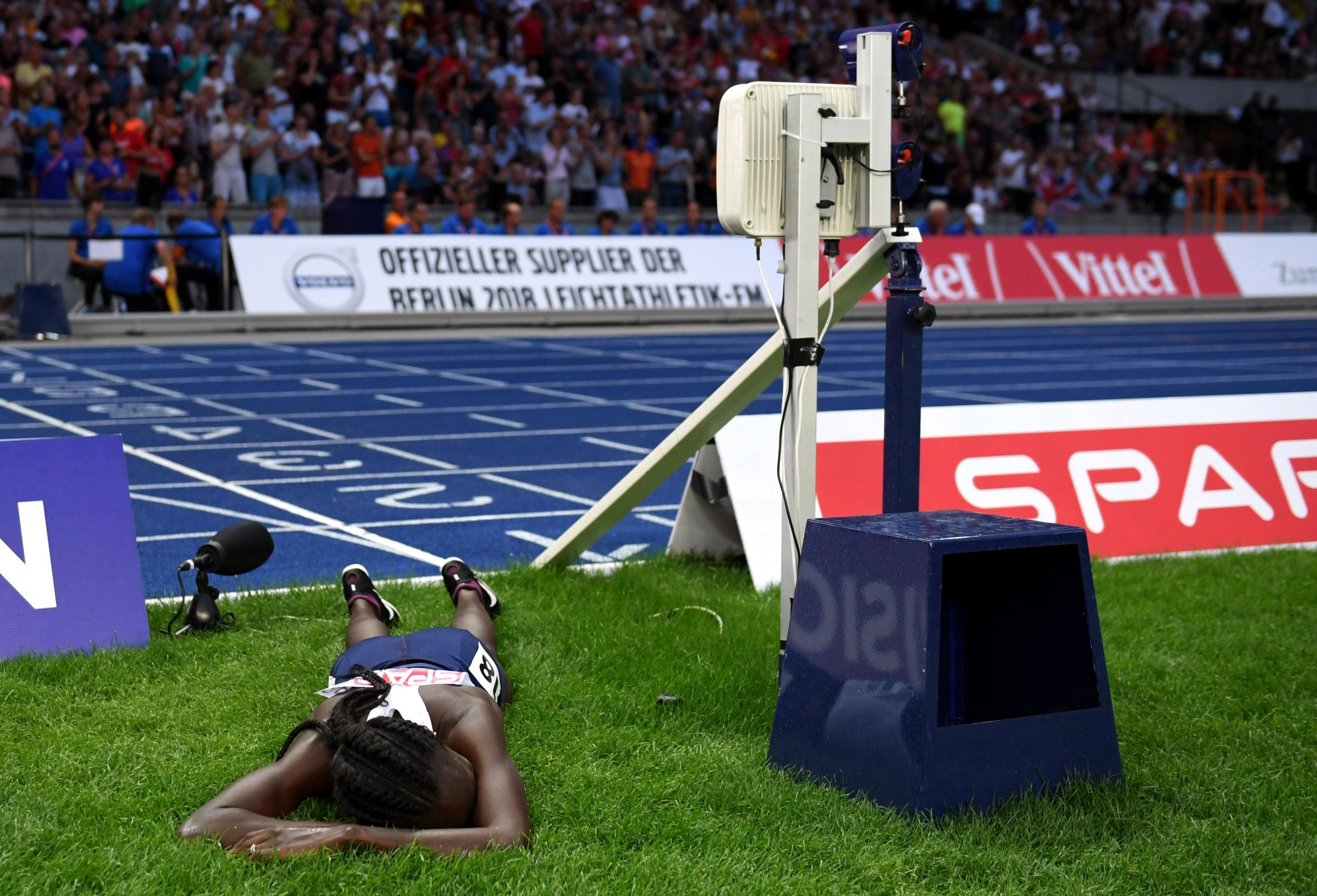 Lonah Salpeter realises the scale of the error that ruined her medal dream