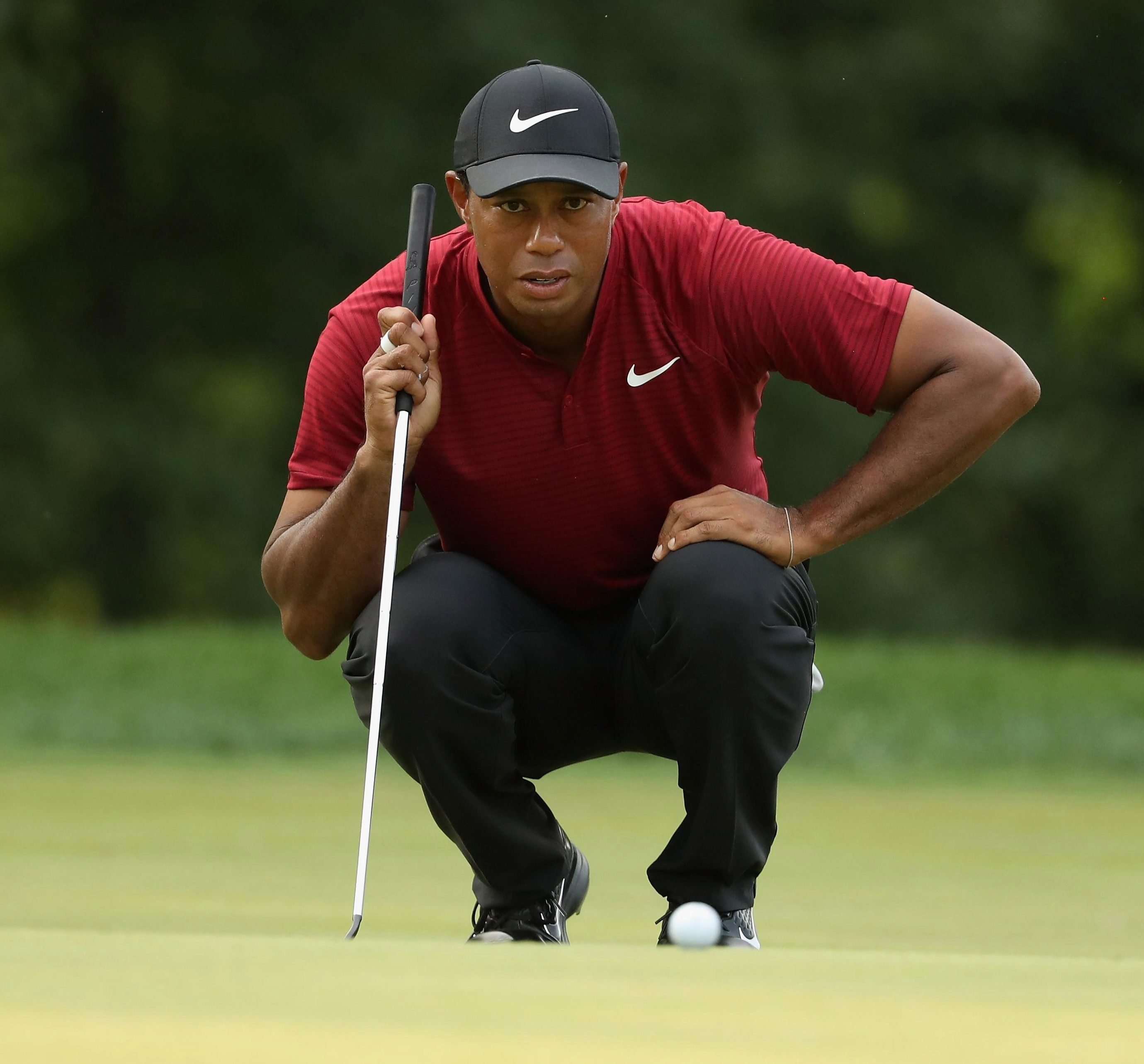 Fourteen-time Major winner Tiger Woods is eyeing a place in a very strong USA team for Paris