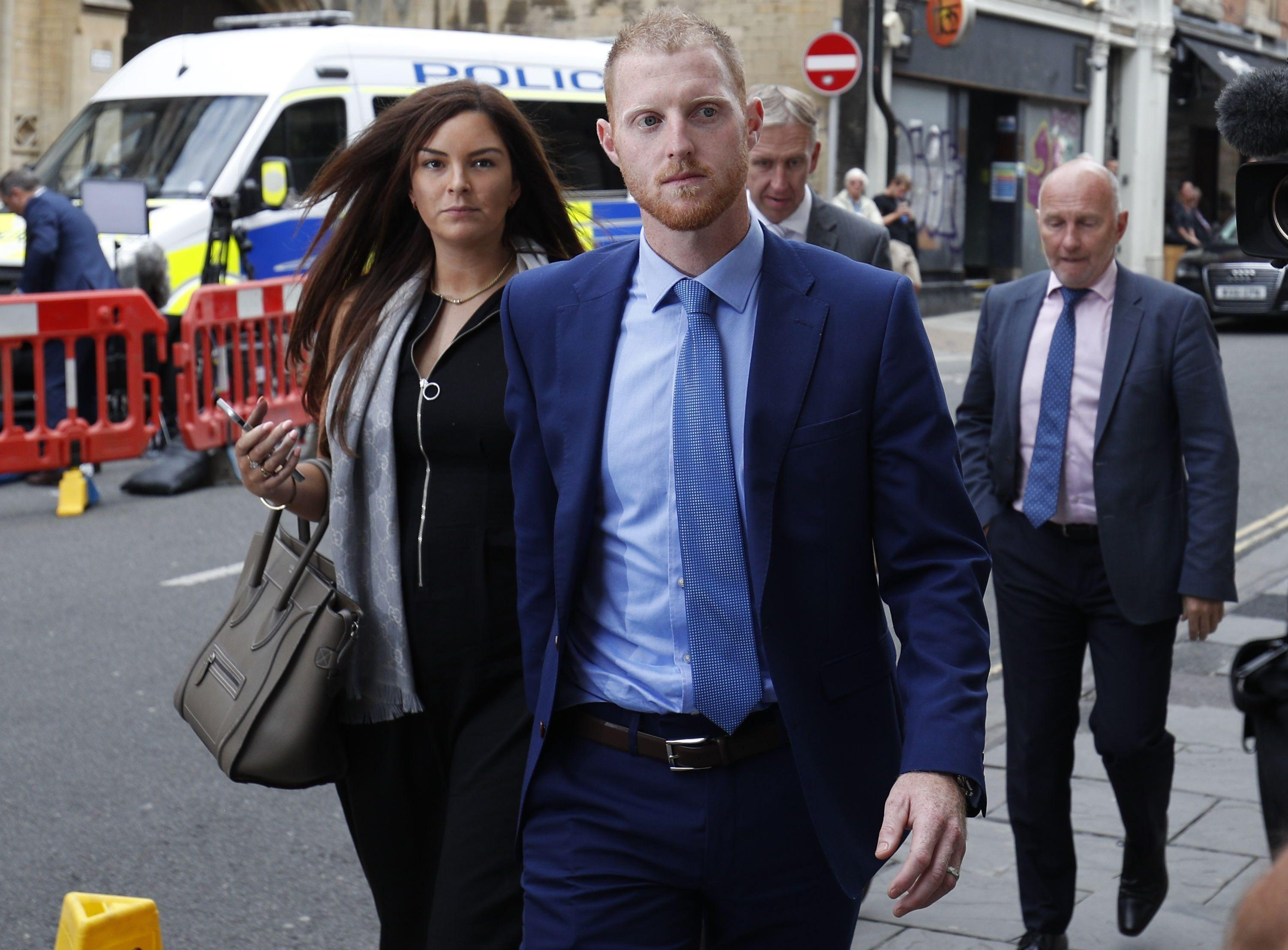 England star Ben Stokes must now wait for the jury to consider their verdict