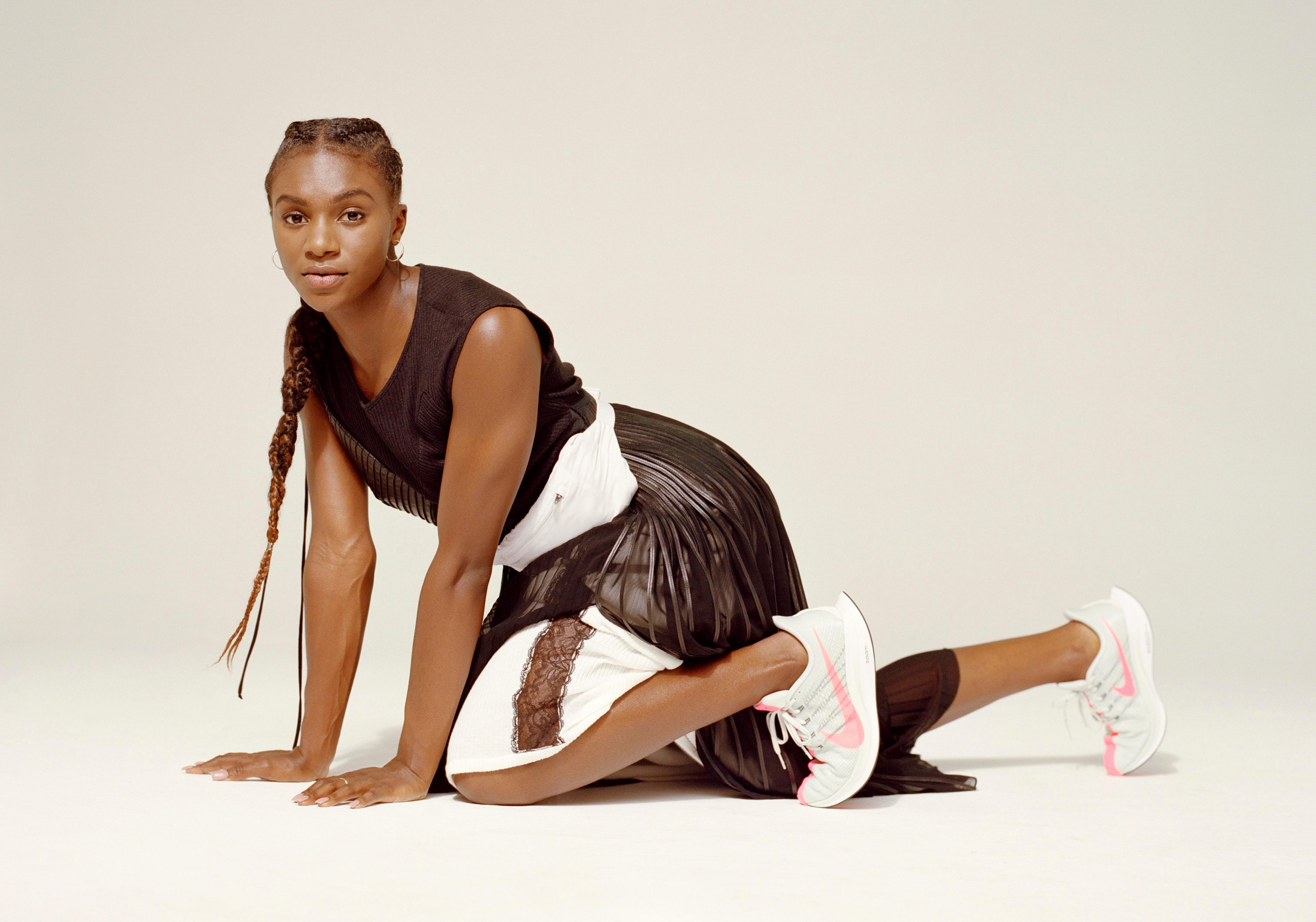 Dina Asher-Smith is a lover of British urban music... and KFC