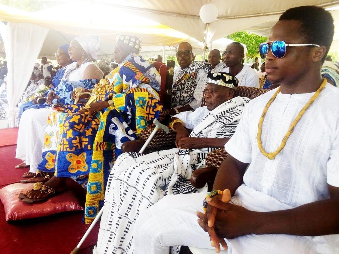 Isaac Dogboe is part of the Torgbui Badu royal family of Anyako
