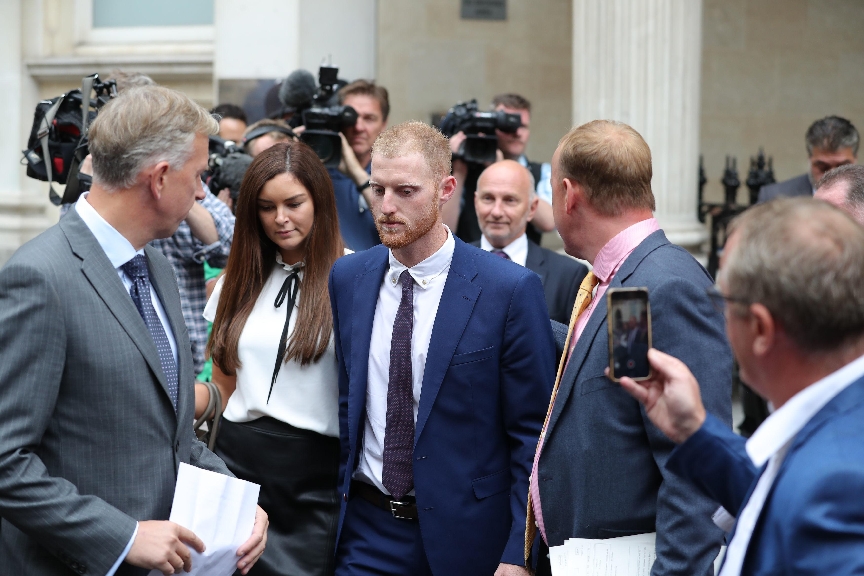 Ben Stokes was cleared of affray after a high-profile trial
