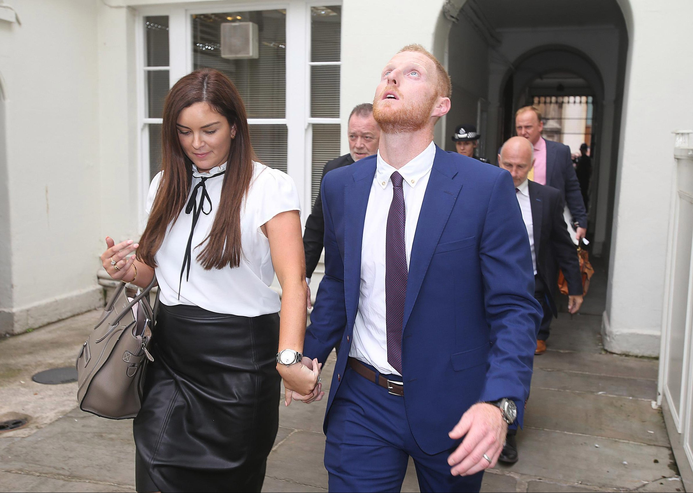 Ben Stokes was cleared by a court of affray