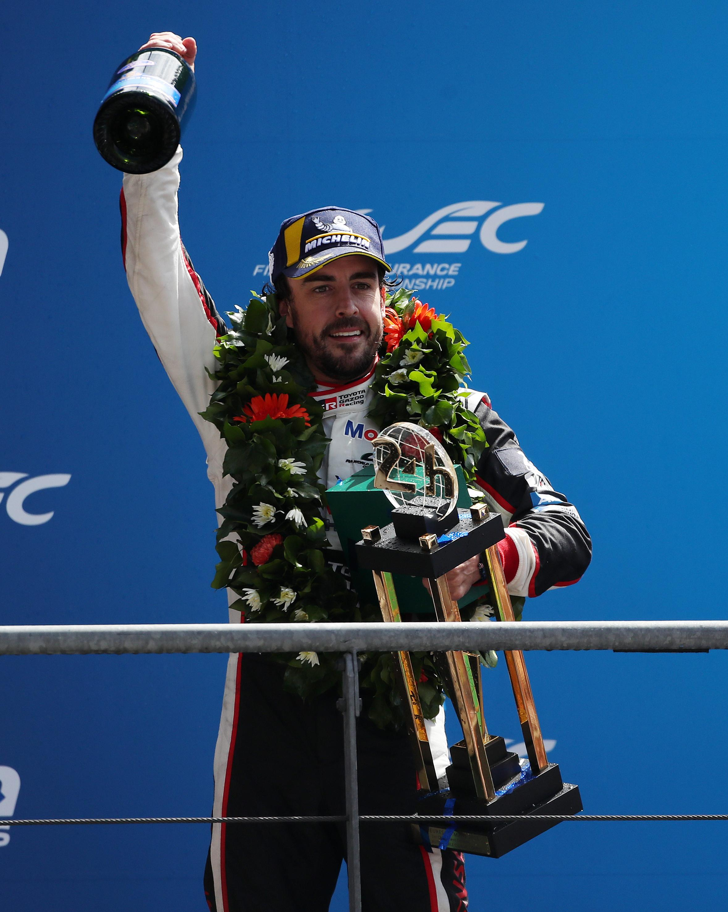 Fernando Alonso has moved into endurance racing and won Le Mans in 2018