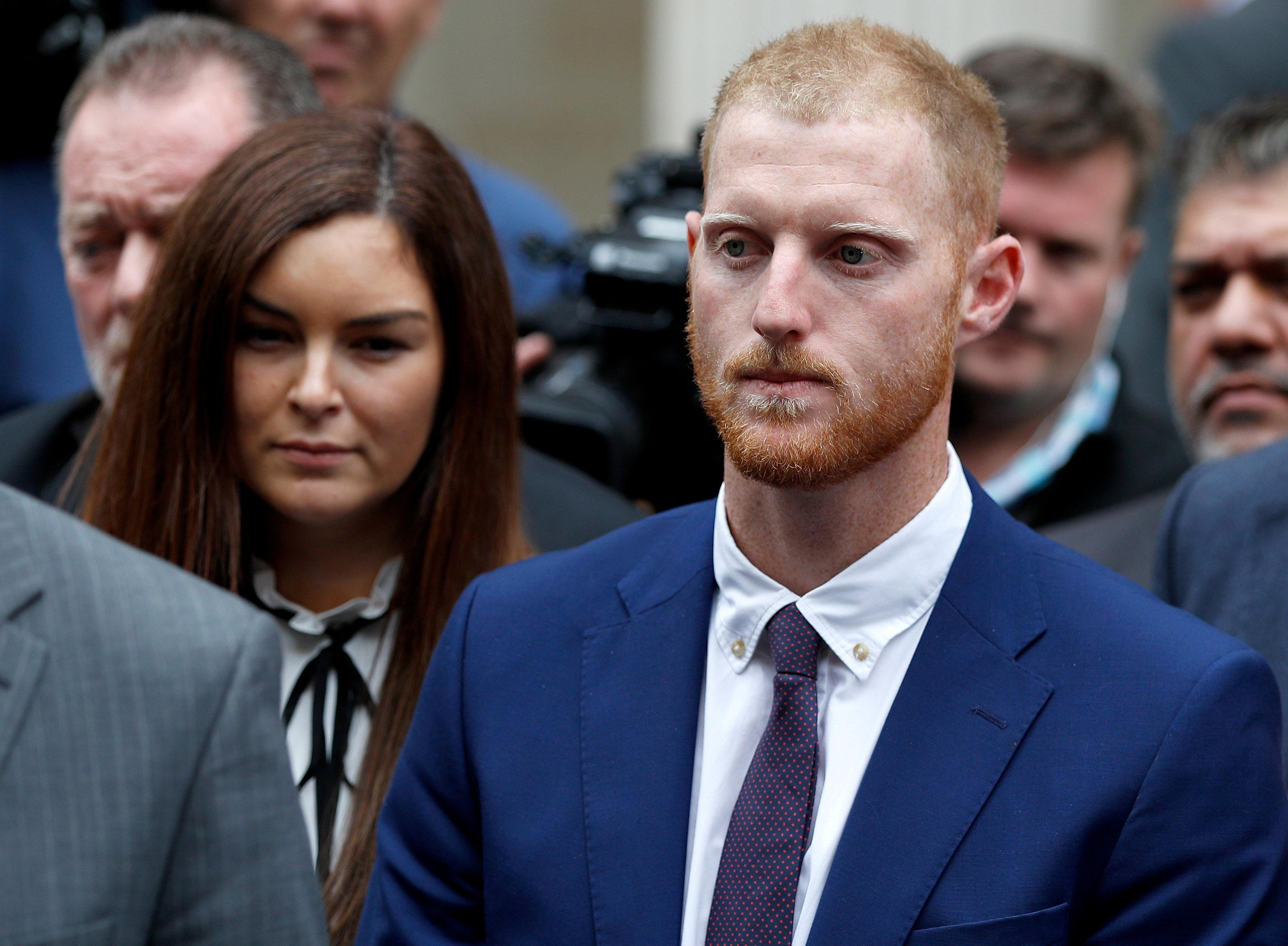 Ben Stokes was found not guilty of affray in Bristol earlier this week