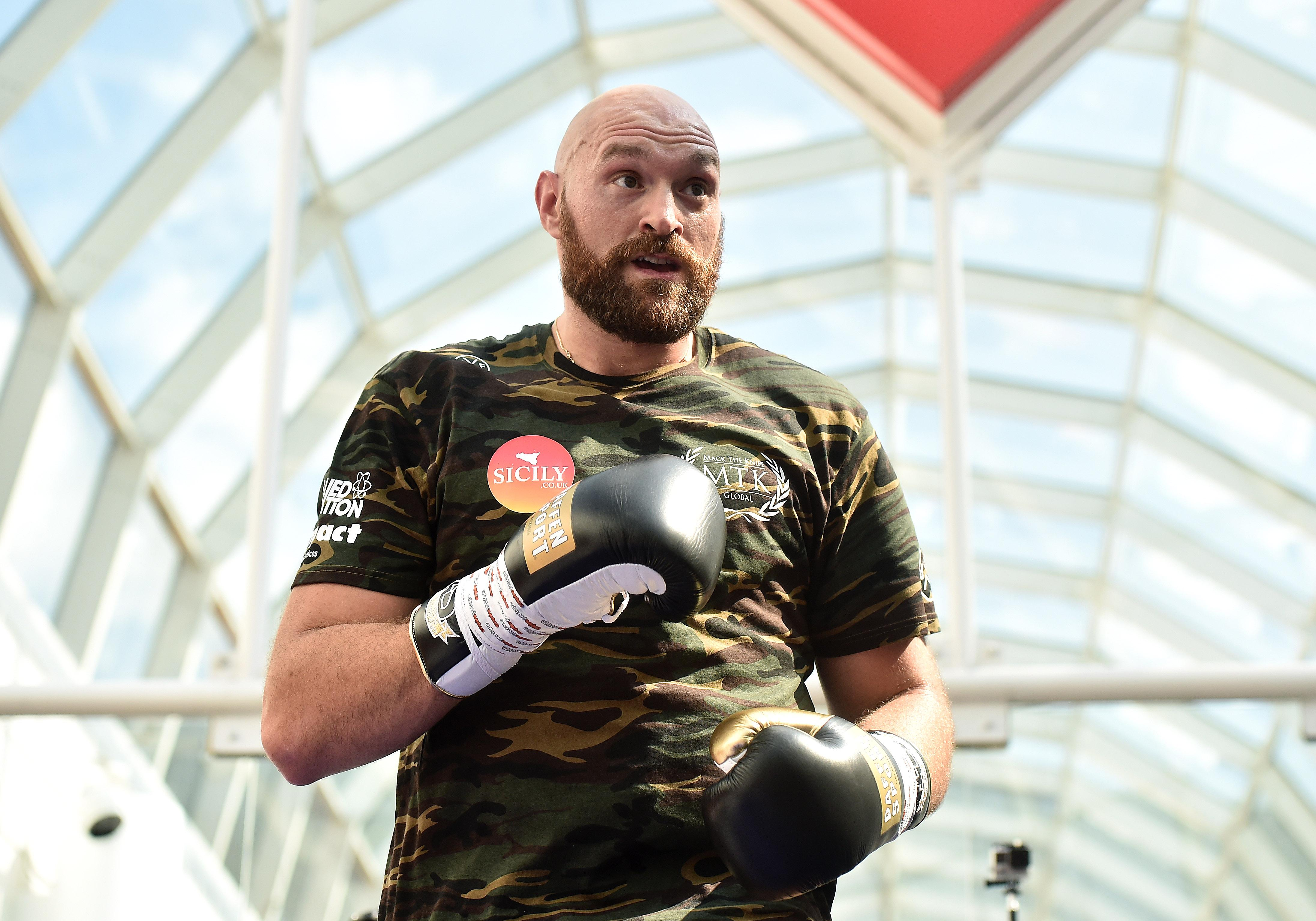Tyson Fury made his comeback in Manchester after a lengthy lay-off