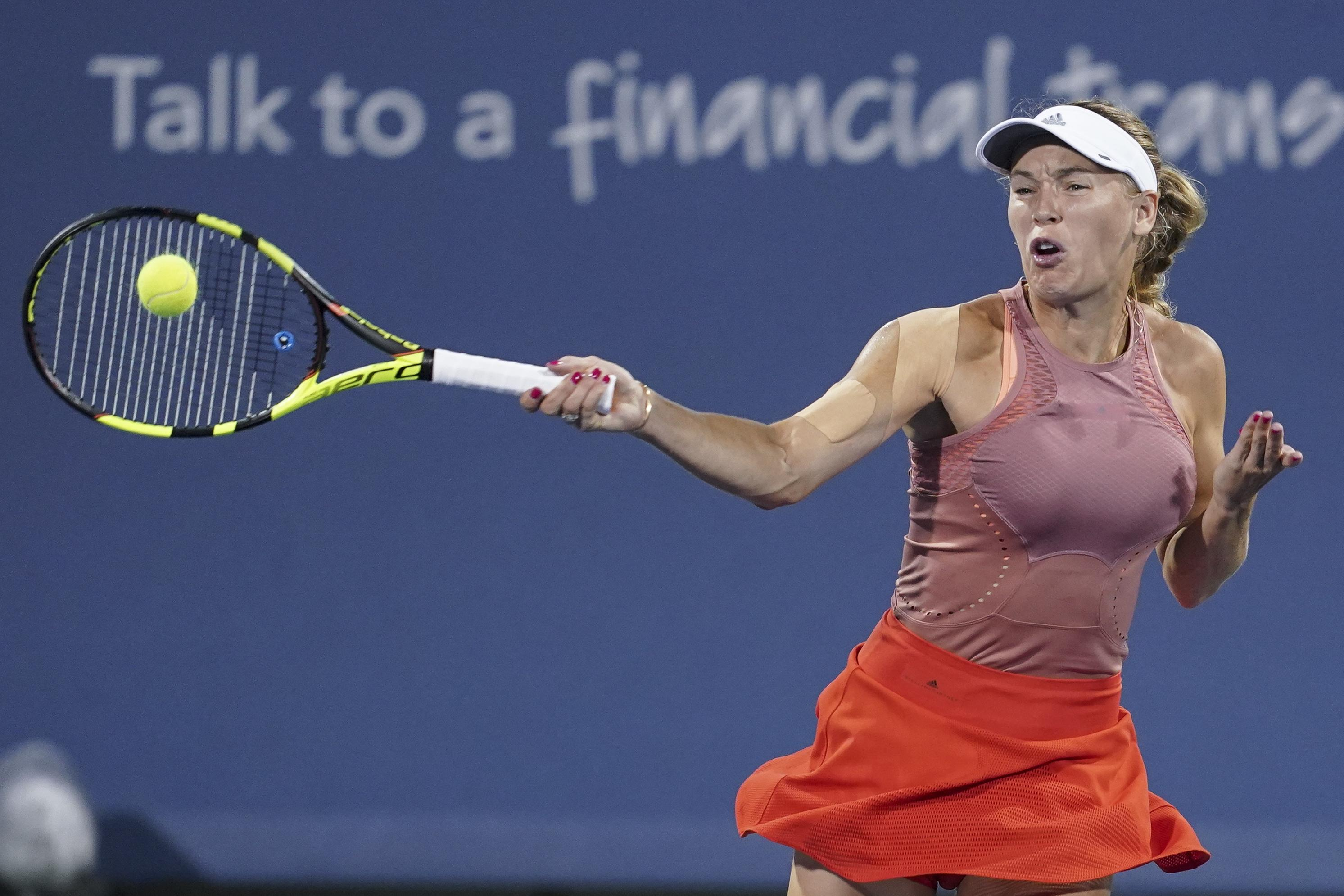 Wozniacki is the world No 2 and current Australian Open holder