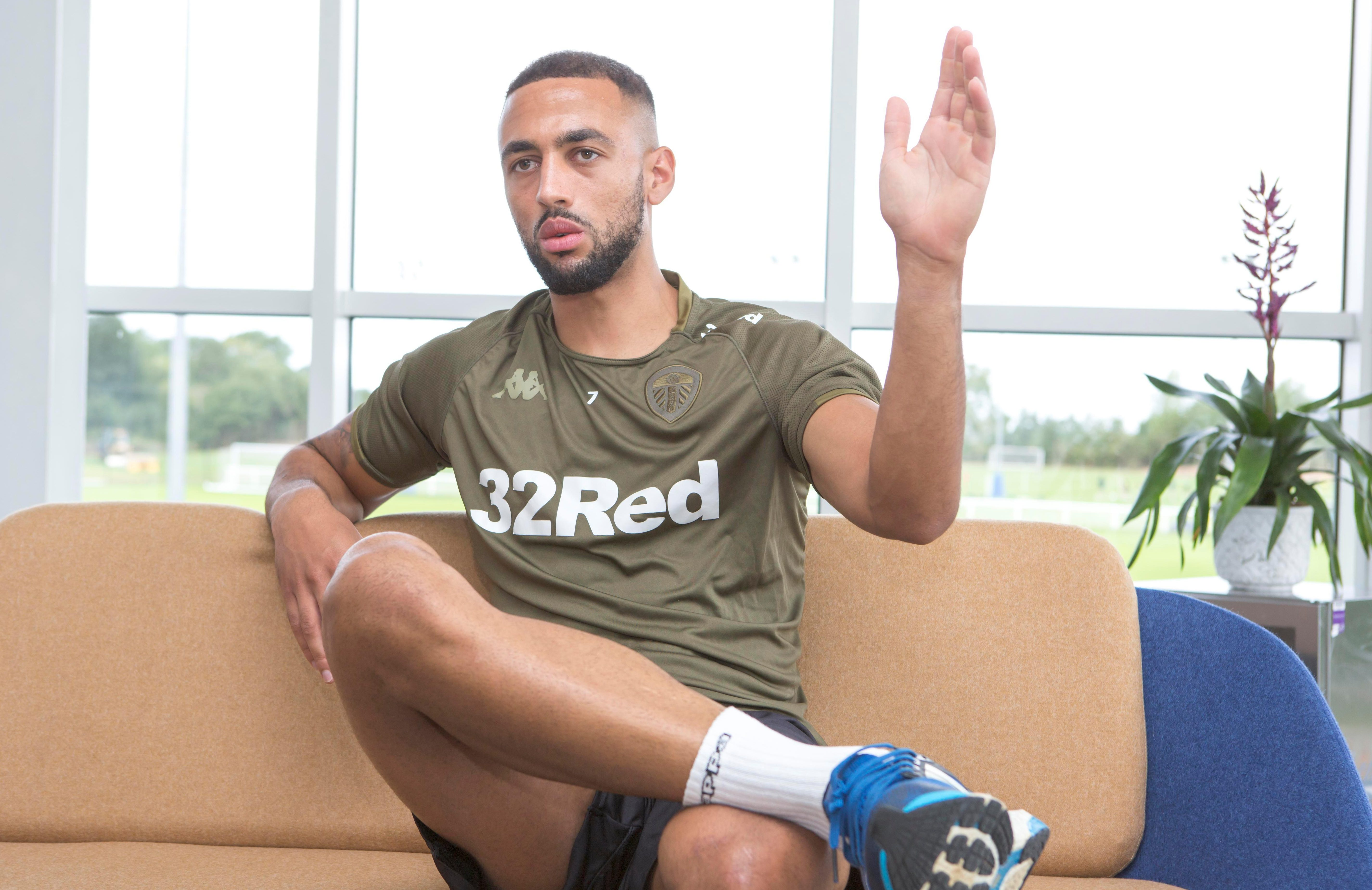 The Leeds United forward spoke exclusively to SunSport this week