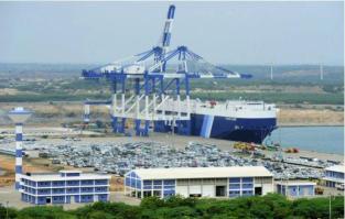 Debt-ridden Sri Lanka's Hambantota port, which China recently seized control of