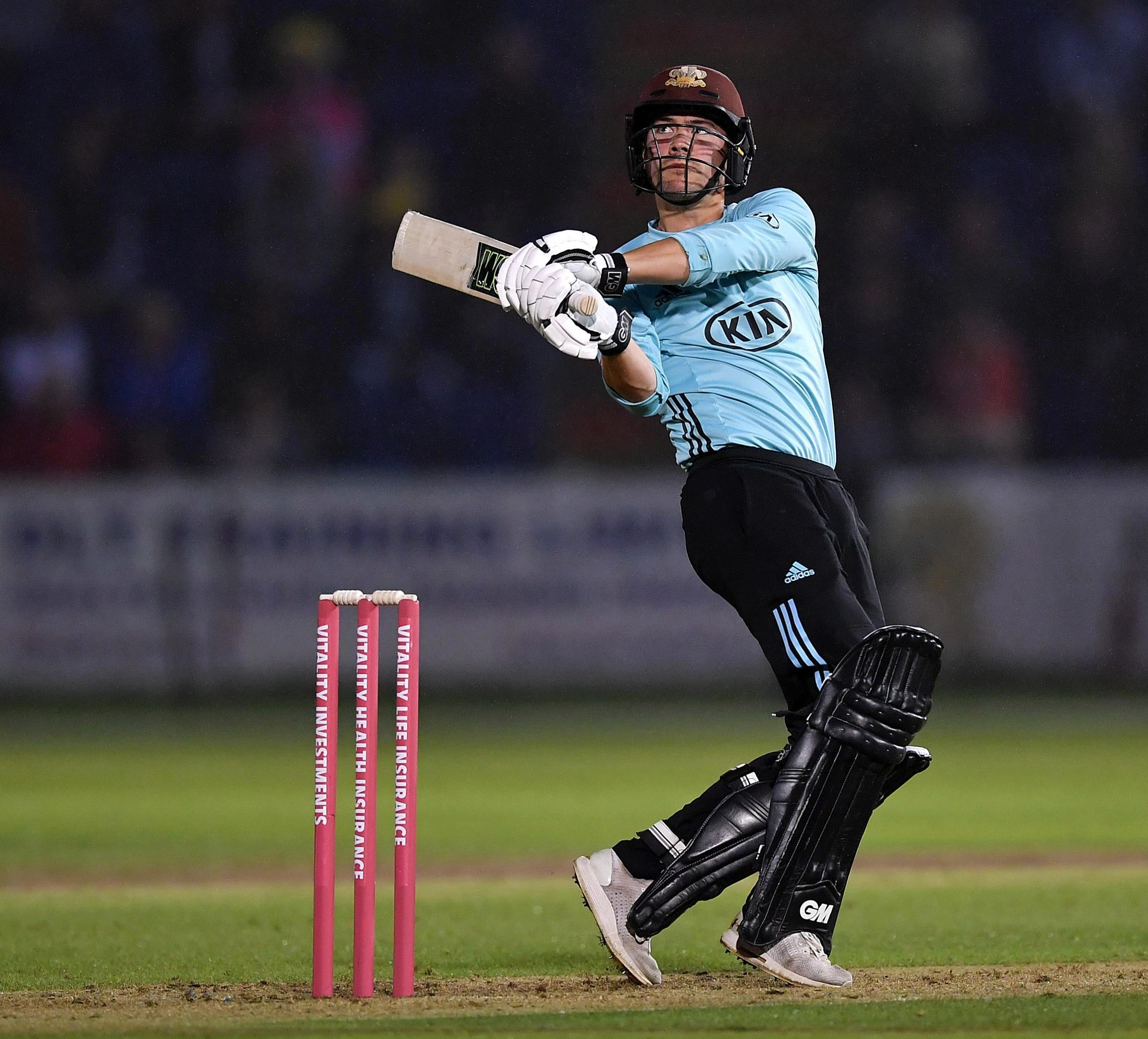 Surrey star Rory Burns is next in line to be called in as an England opener or No 3 - but being left-handed against world-class Indian spinners is a big disadvantage