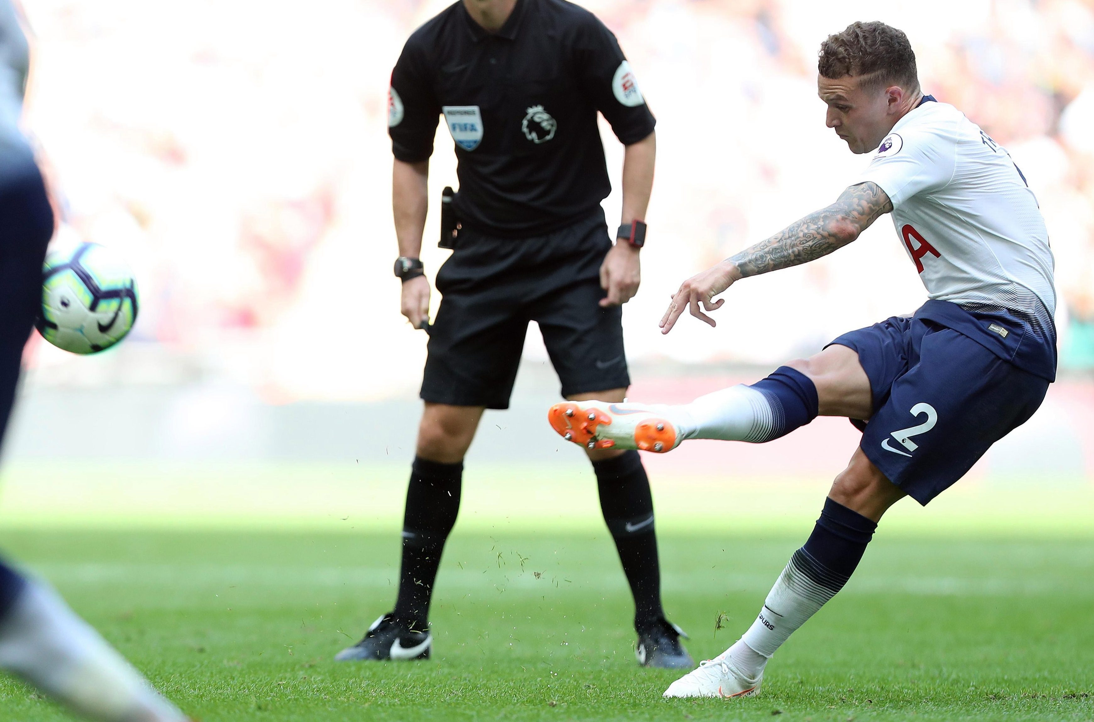 Trippier bagged a banger to help Spurs overcome Fulham