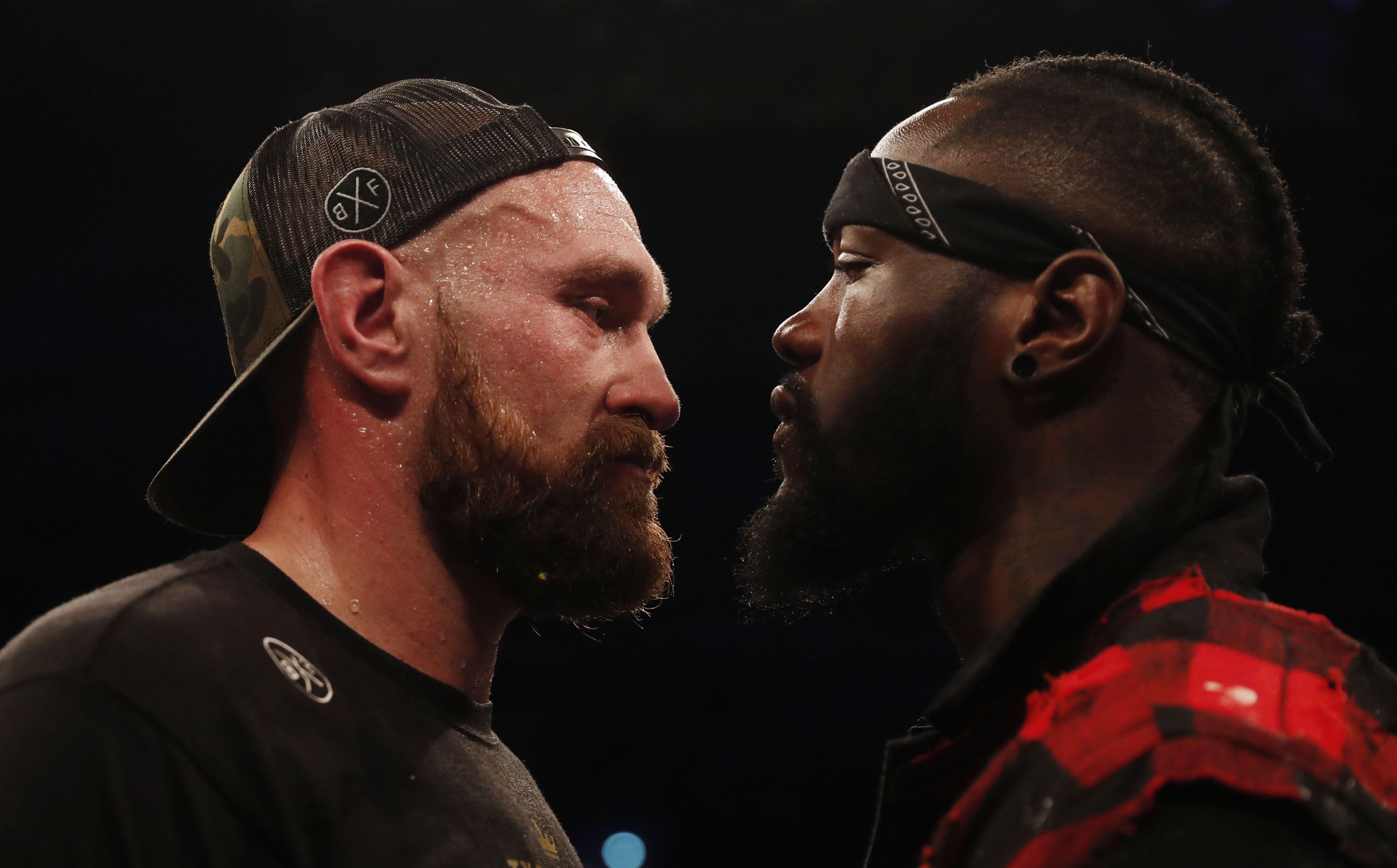 Tyson Fury and Deontay Wilder stated their intentions to scrap later on in the year