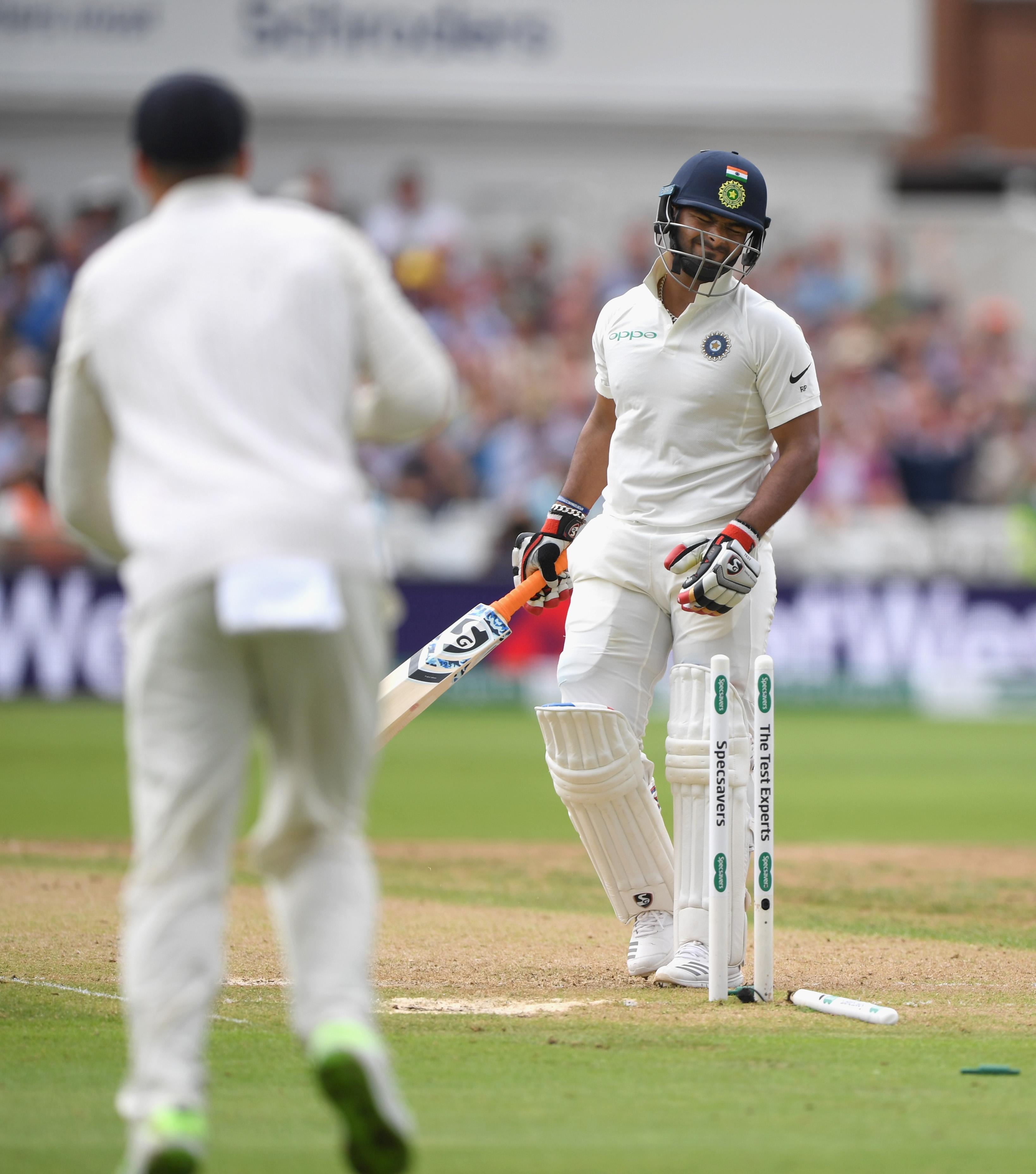 The incident occurred after Stuart Broad dismissed Rishabh Pant on Sunday