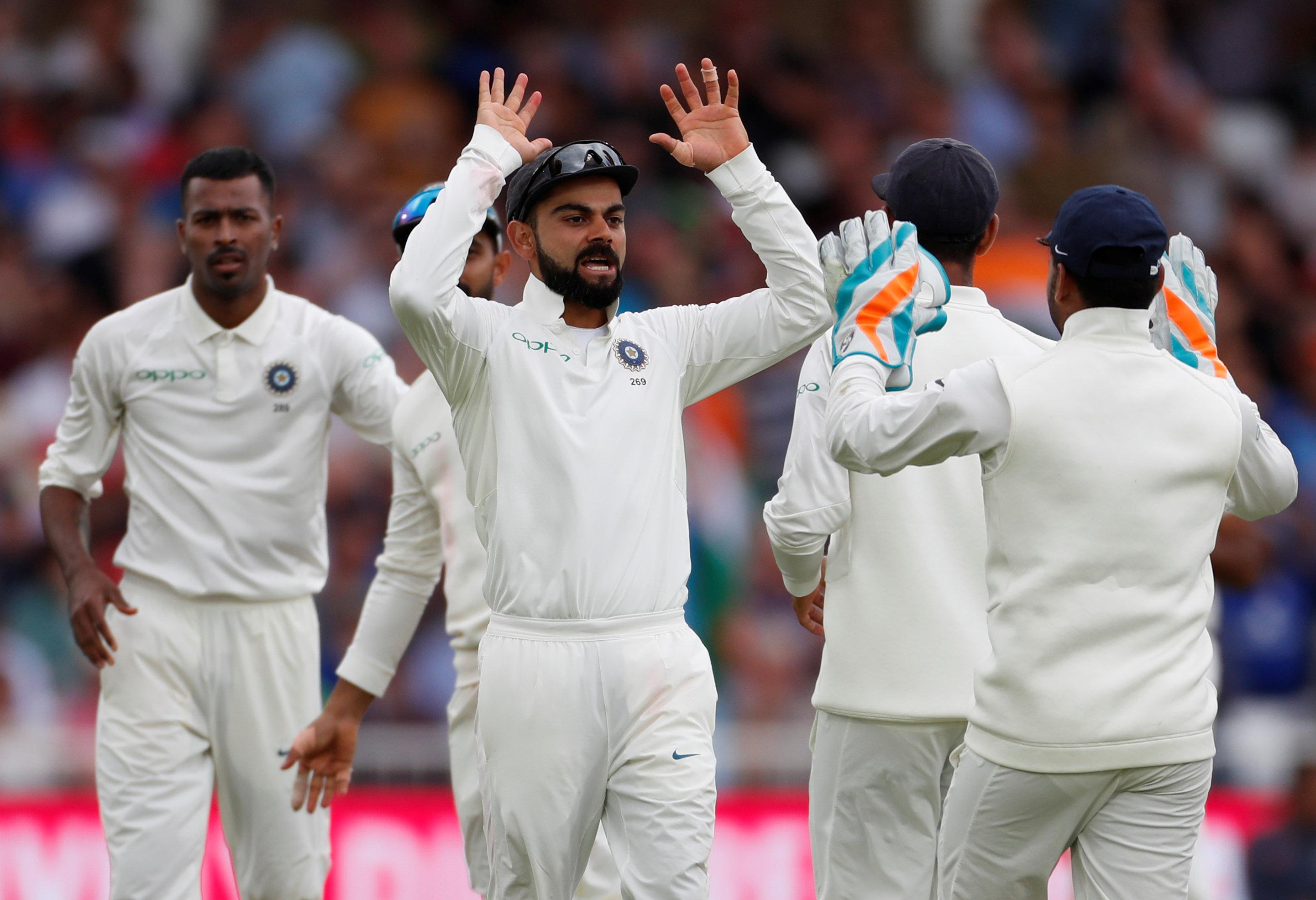 A total of 16 wickets fell on the second day as India took control of the third Test