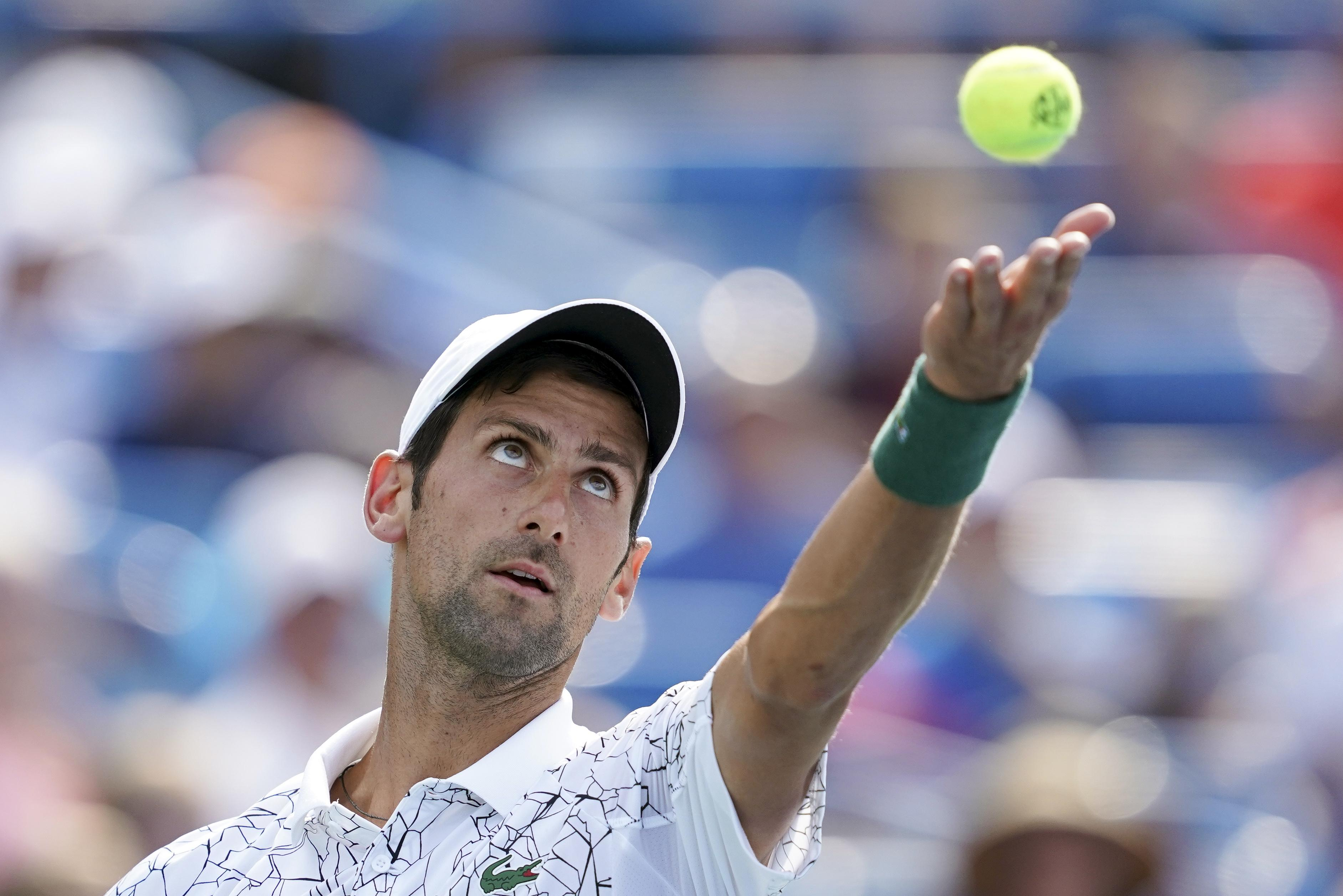 Djokovic was better in every department, but none more so than on the serve