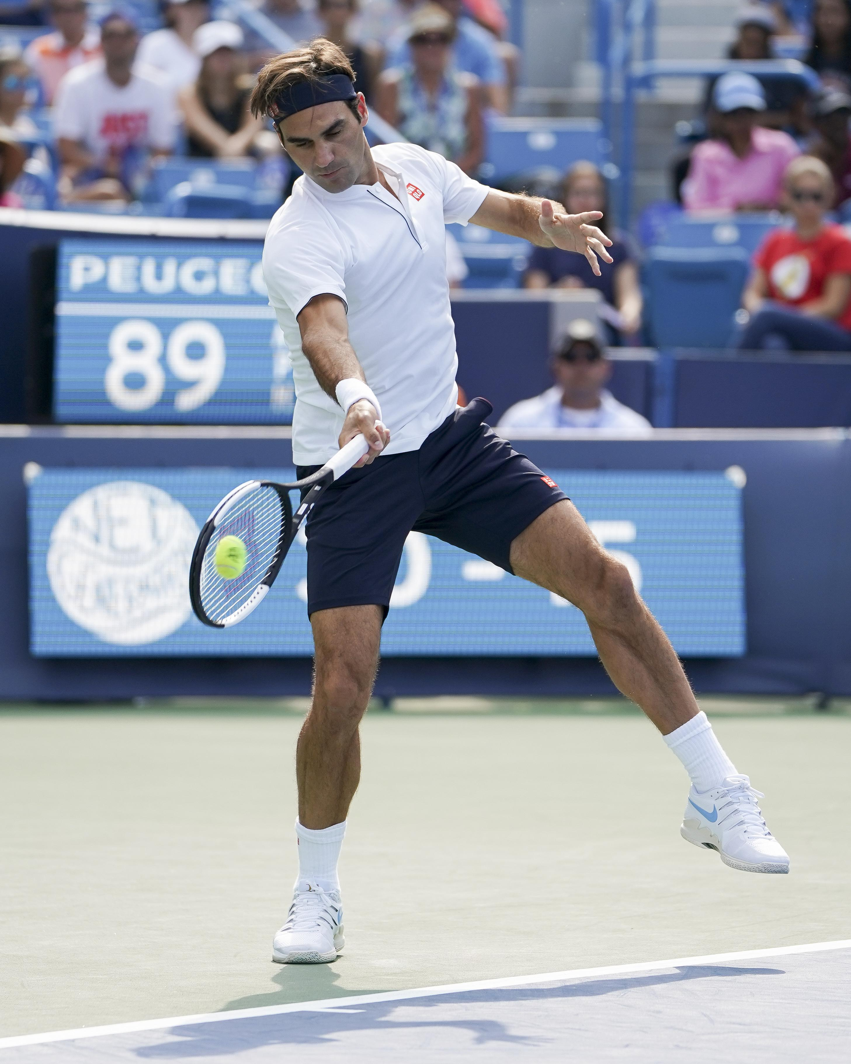 Djokovic had Federer on the back foot from the outset