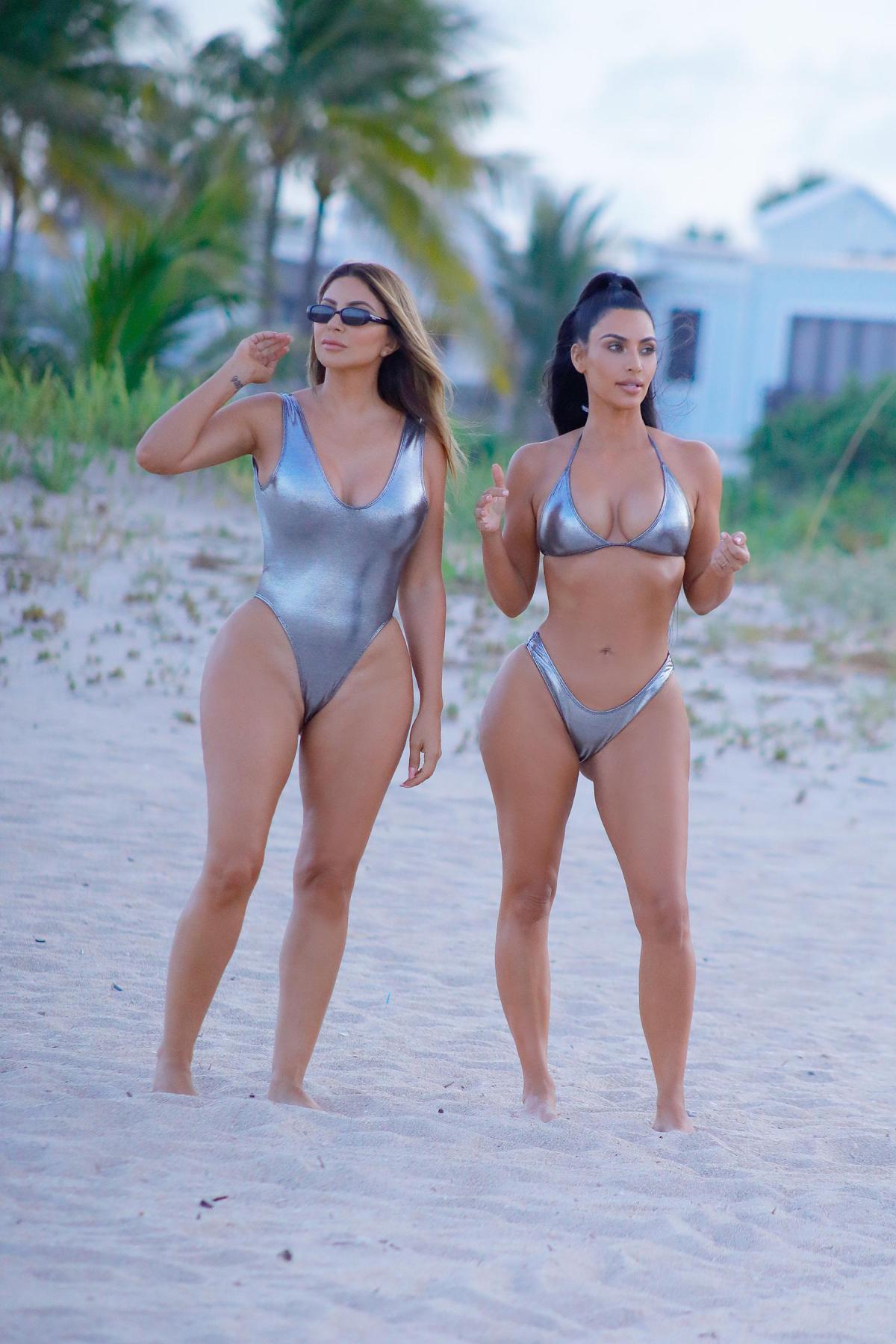 Kim Kardashian Larsa Pippen