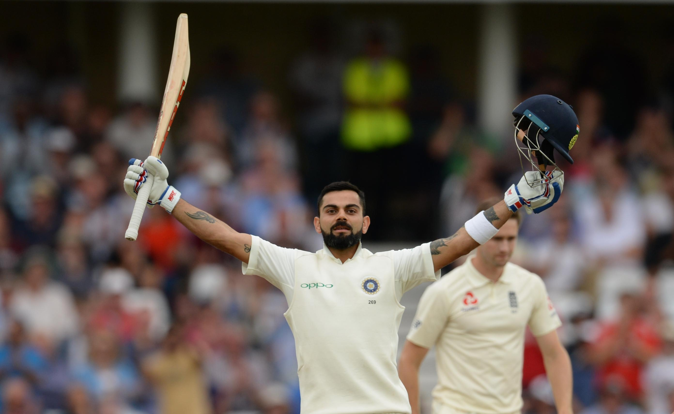 Virat Kohli was in impressive form as he tormented England's bowlers