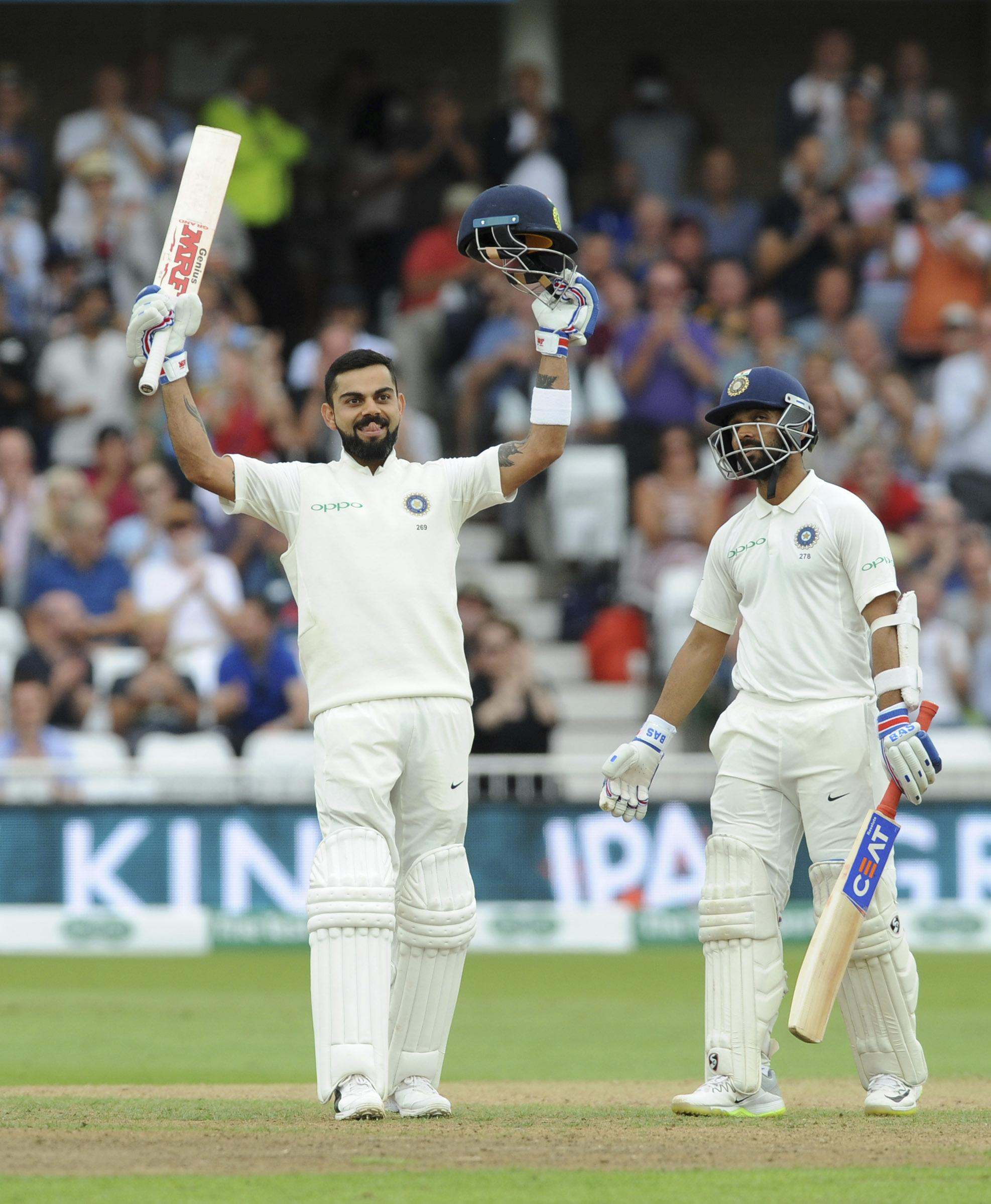 Virat Kohli has emphatically removed any doubts about his ability to score runs in England
