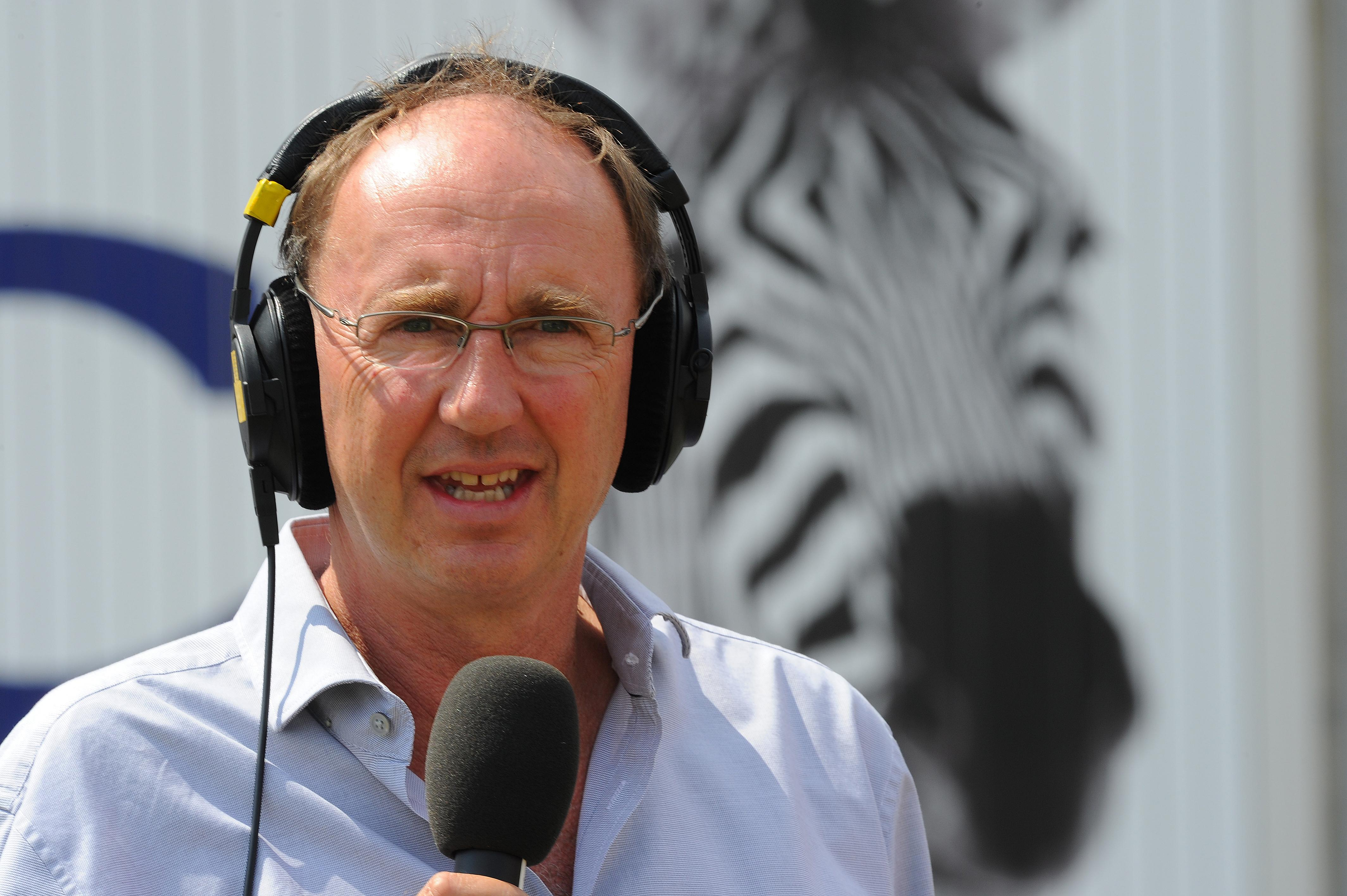 Star cricket commentator Joanthan Agnew had the ominous task of reading out the most emotional of letters live on air
