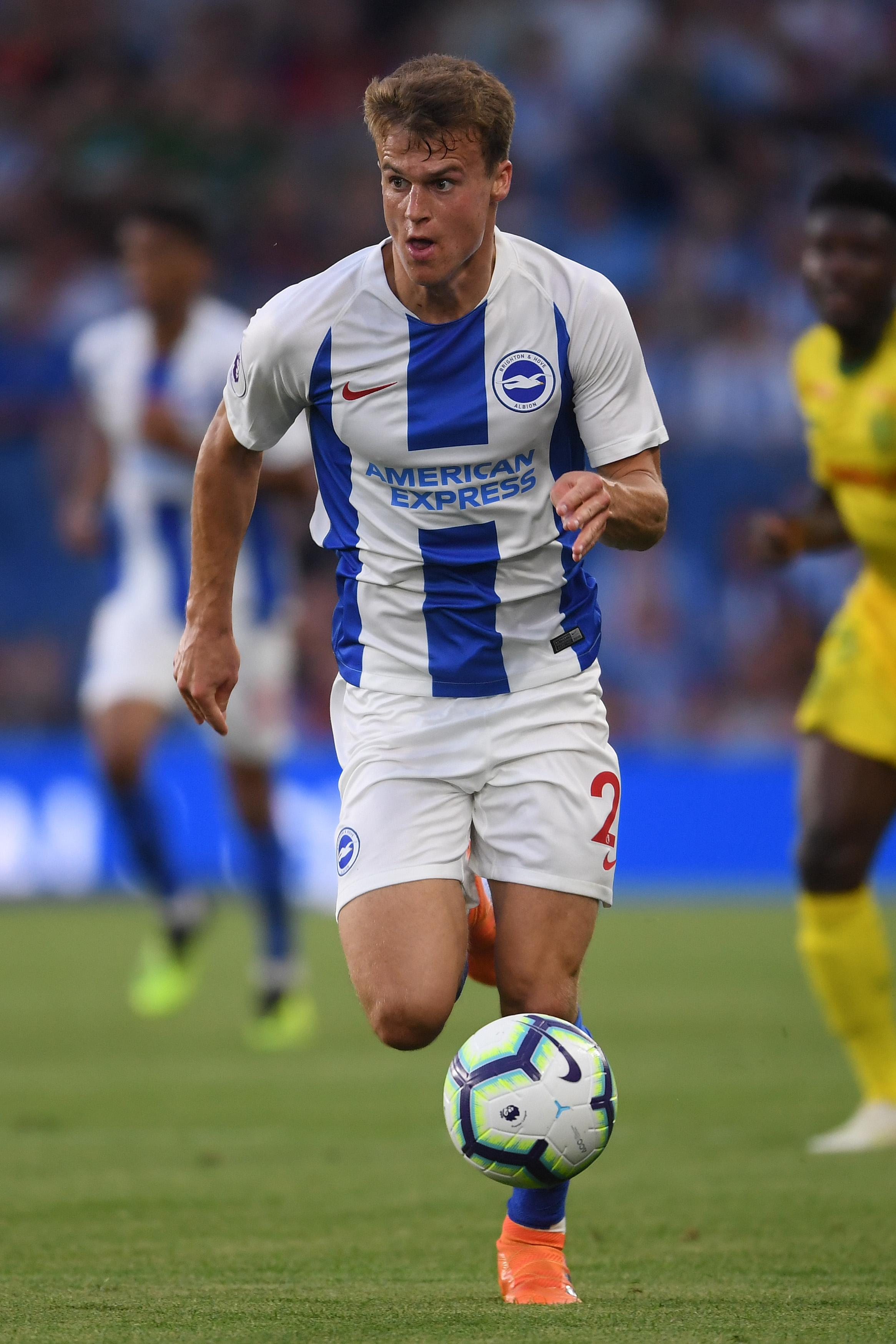 Solly March in action for Brighton