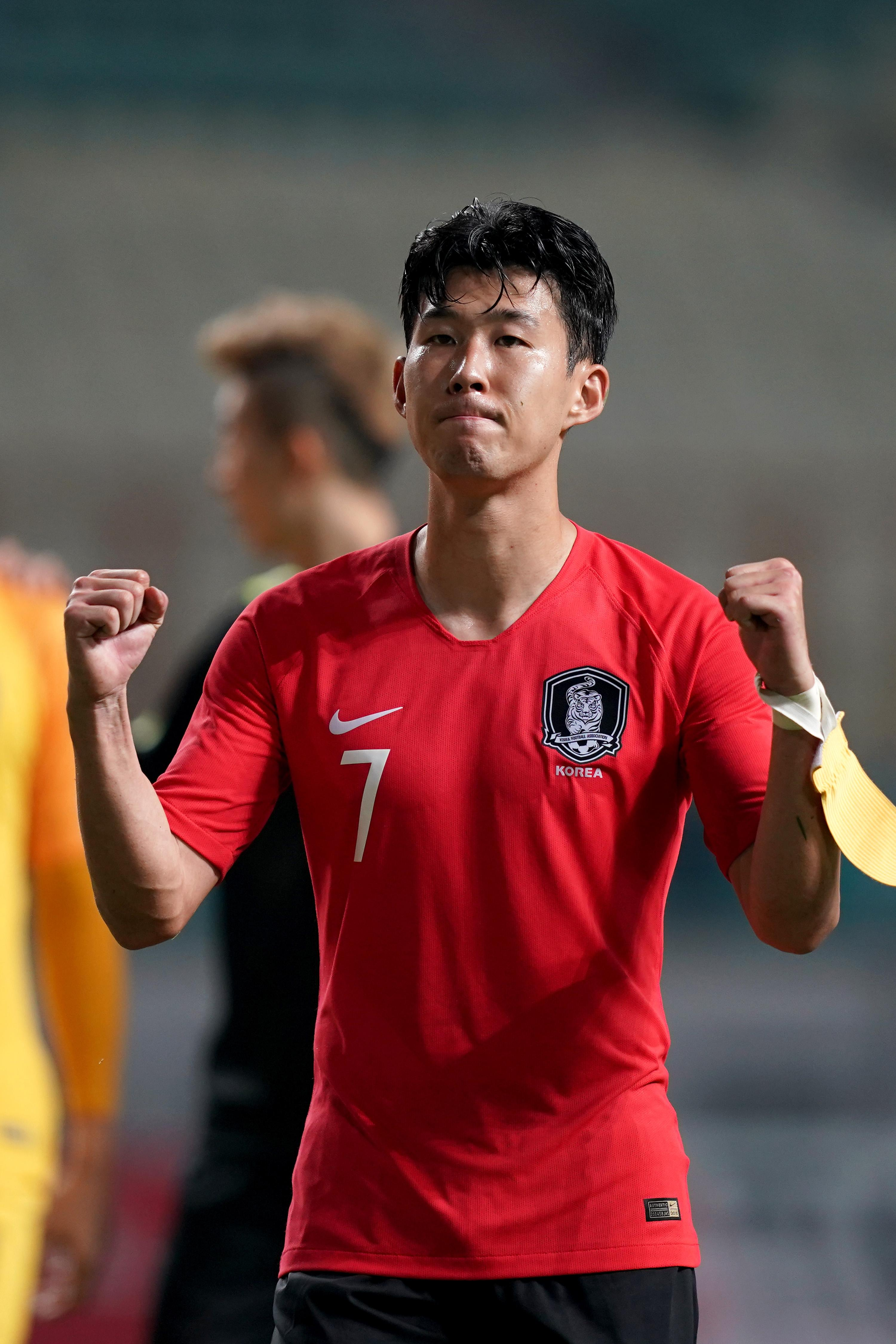 Son Heung-min could yet avoid military service if South Korea continue to win