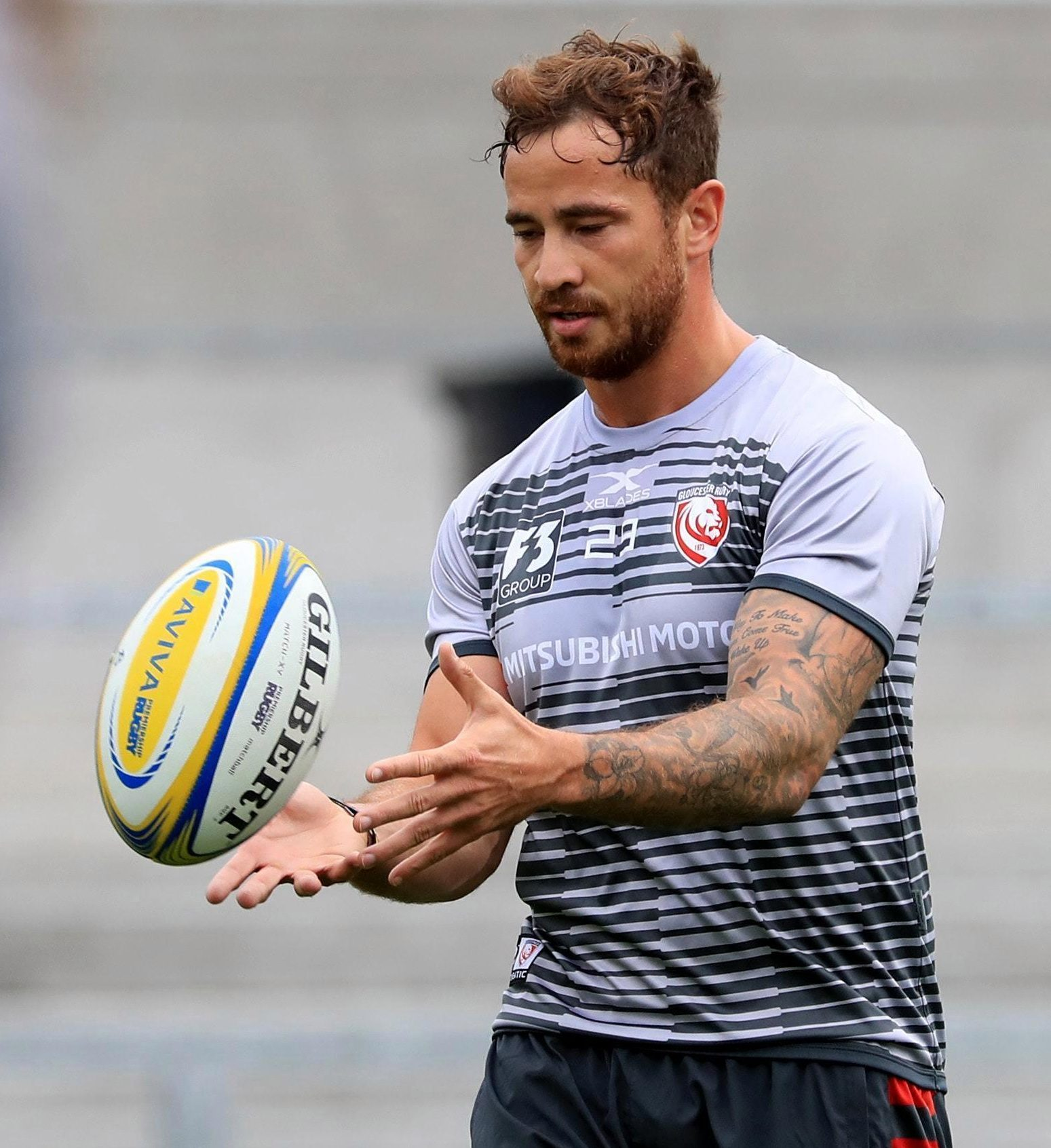 Controversial England star Danny Cipriani has swapped Wasps for Gloucester