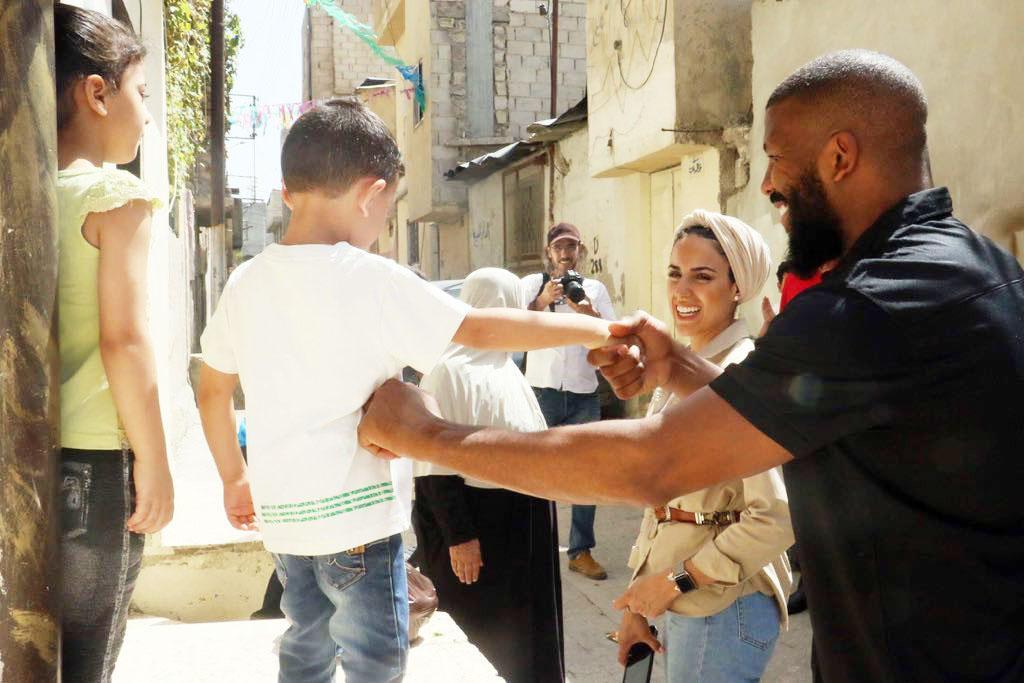 Badou Jack wants to help children around the world