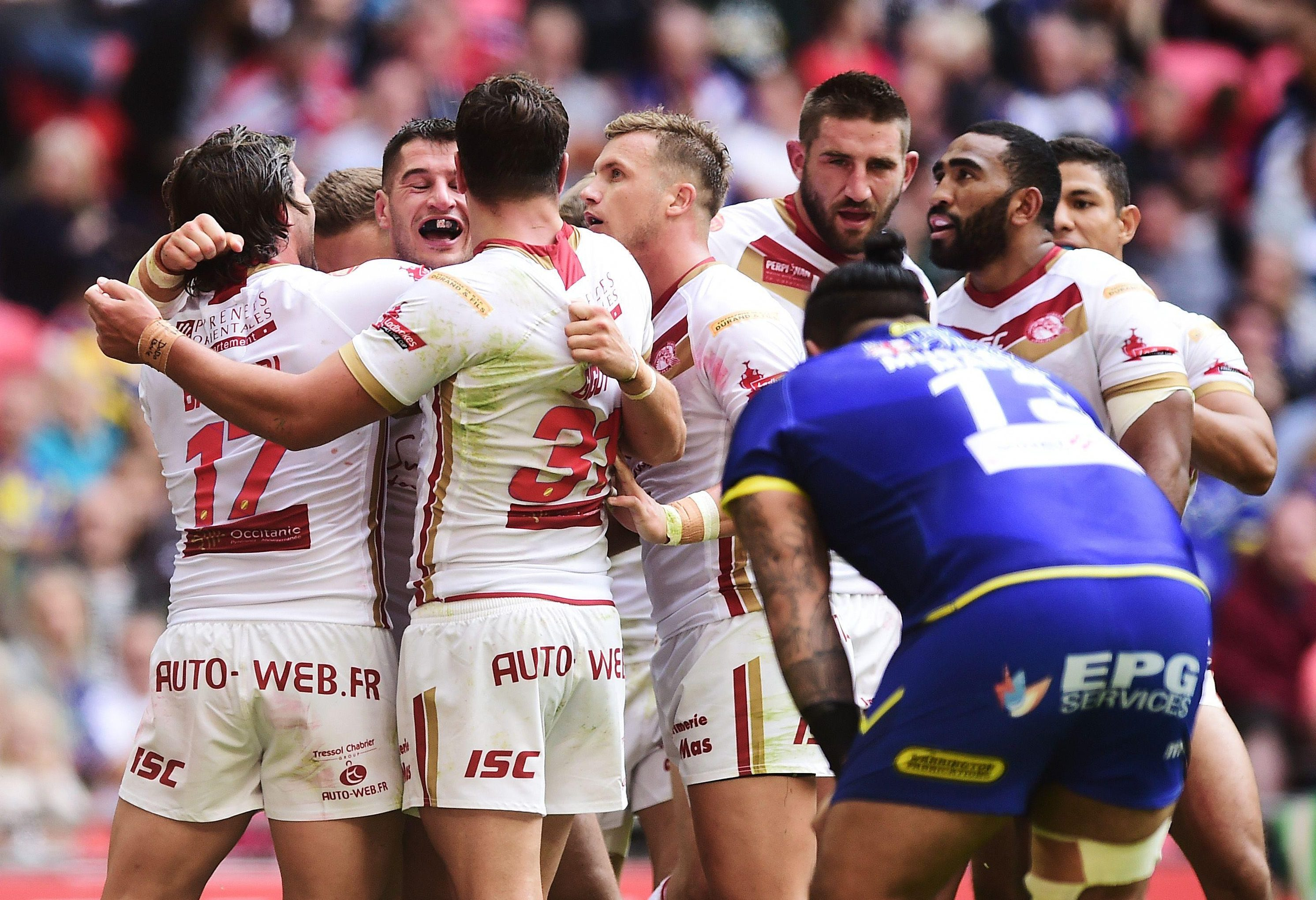 The French side were not seen as favourites against Warrington