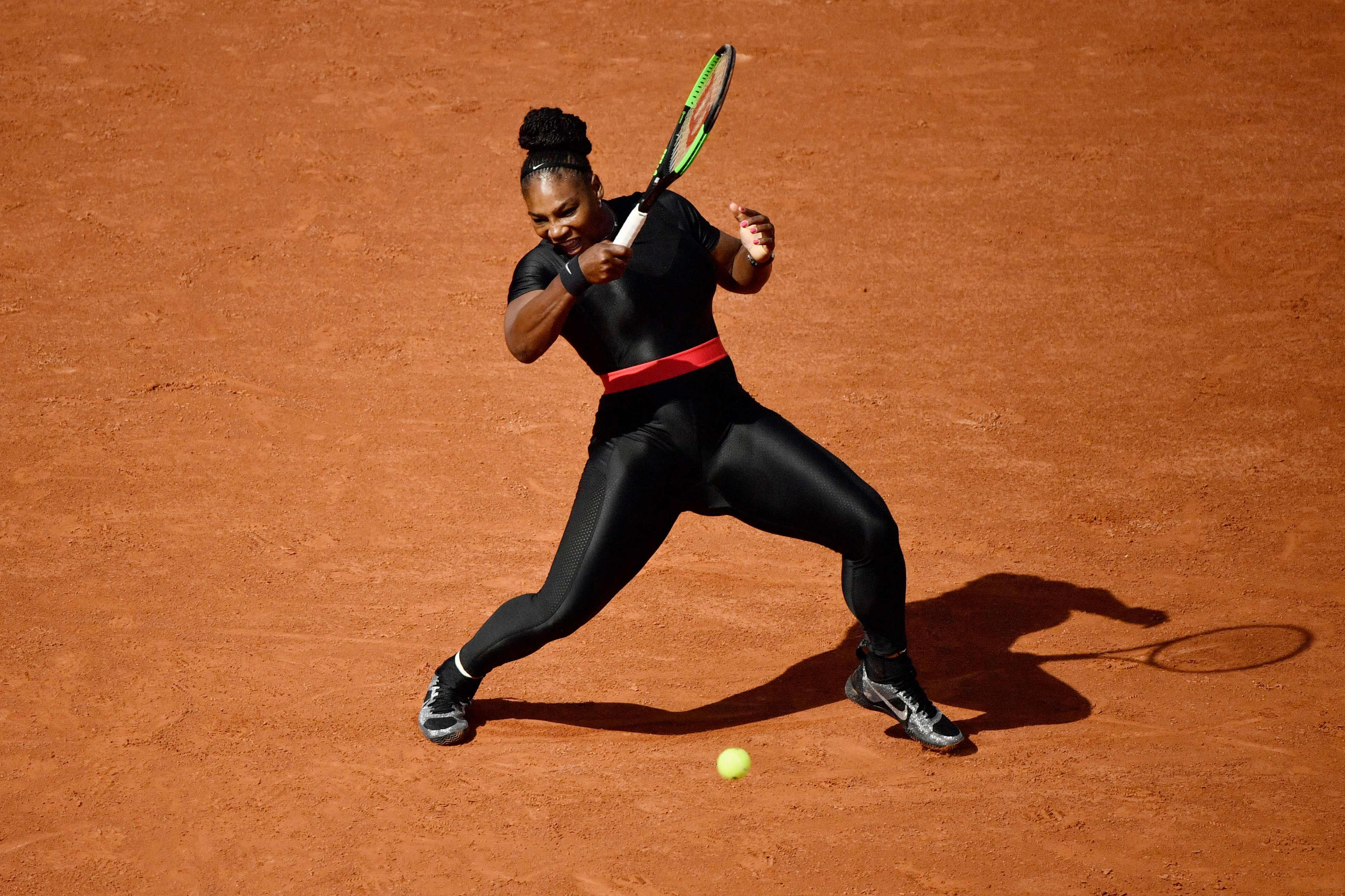 Serena Williams has been banned from wearing this catsuit at future French Opens