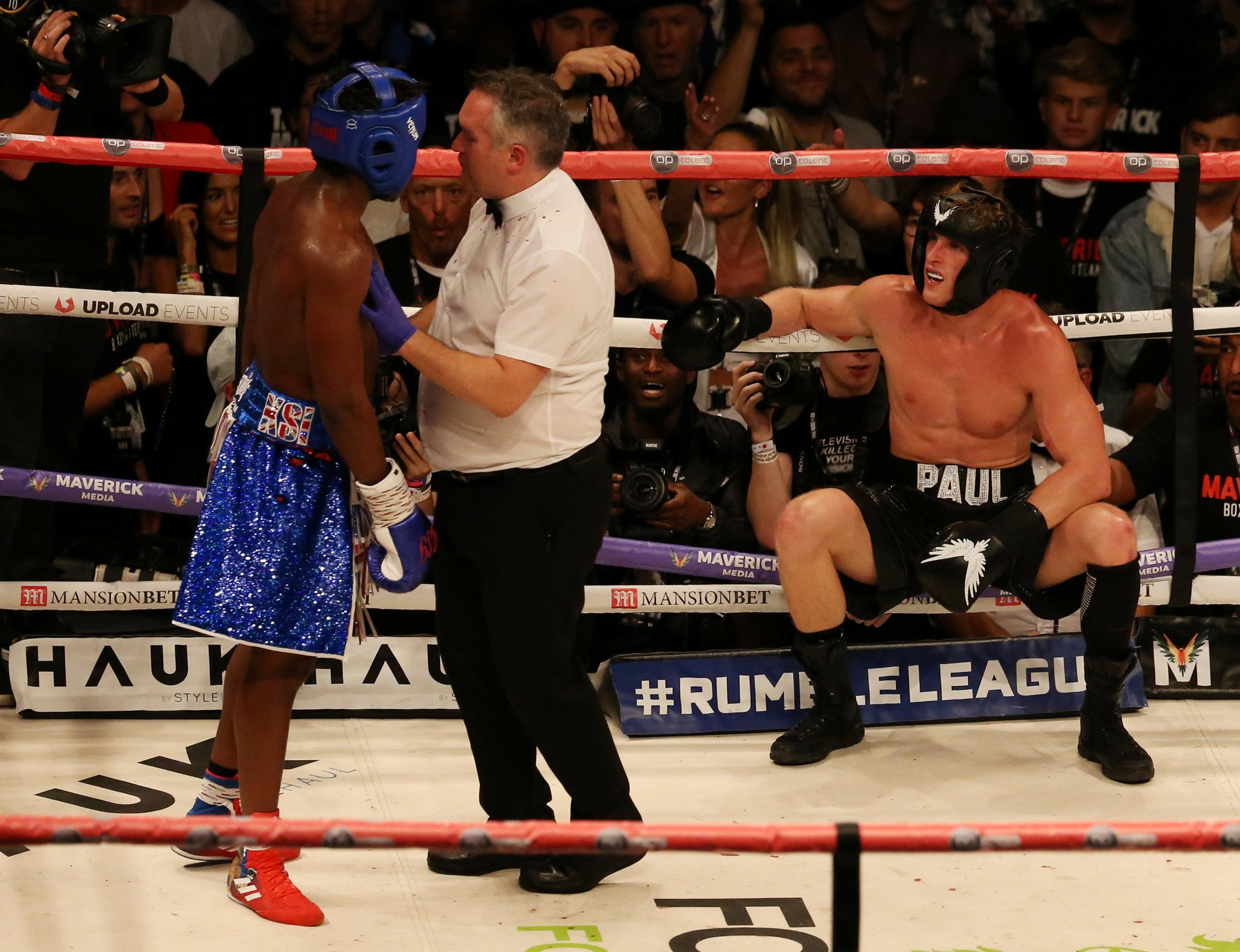 KSI has hit out at the judges for not awarding him the win over Logan Paul